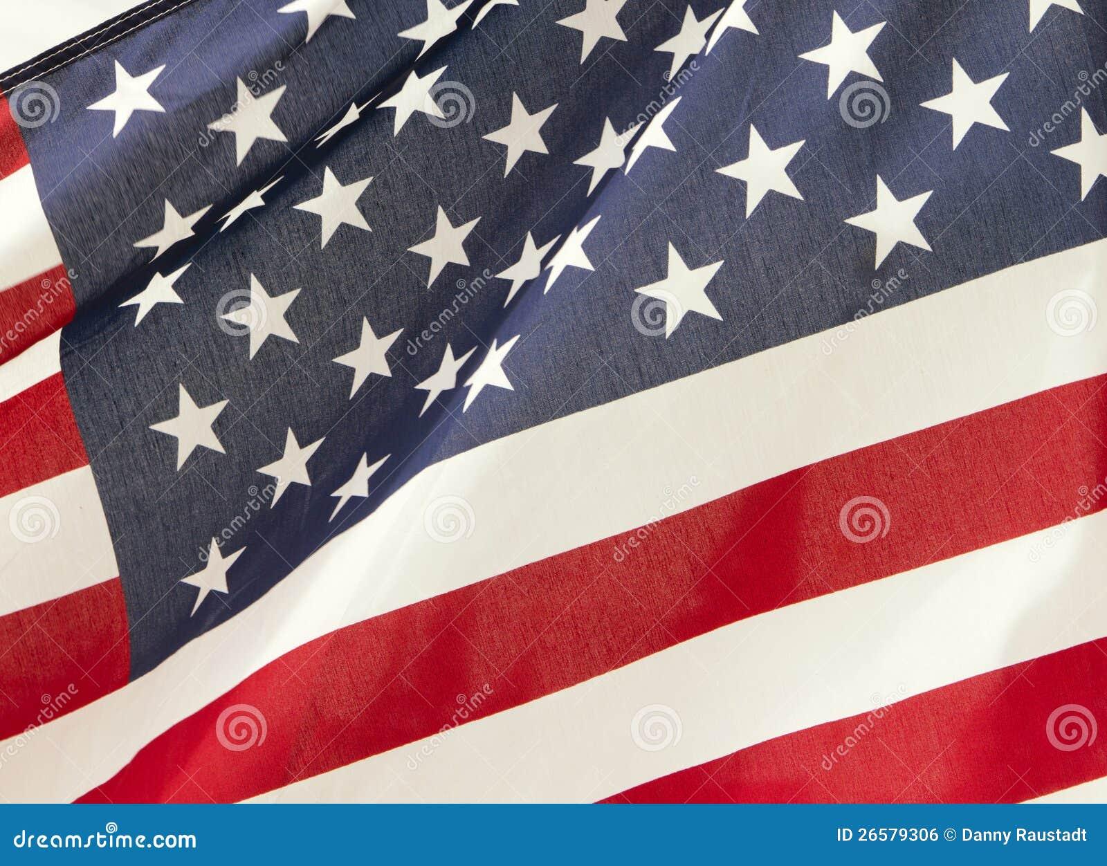 Bandeira das estrelas e das listras de Estados Unidos