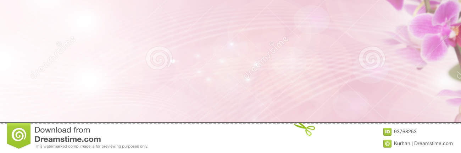 Bandeira das flores Background