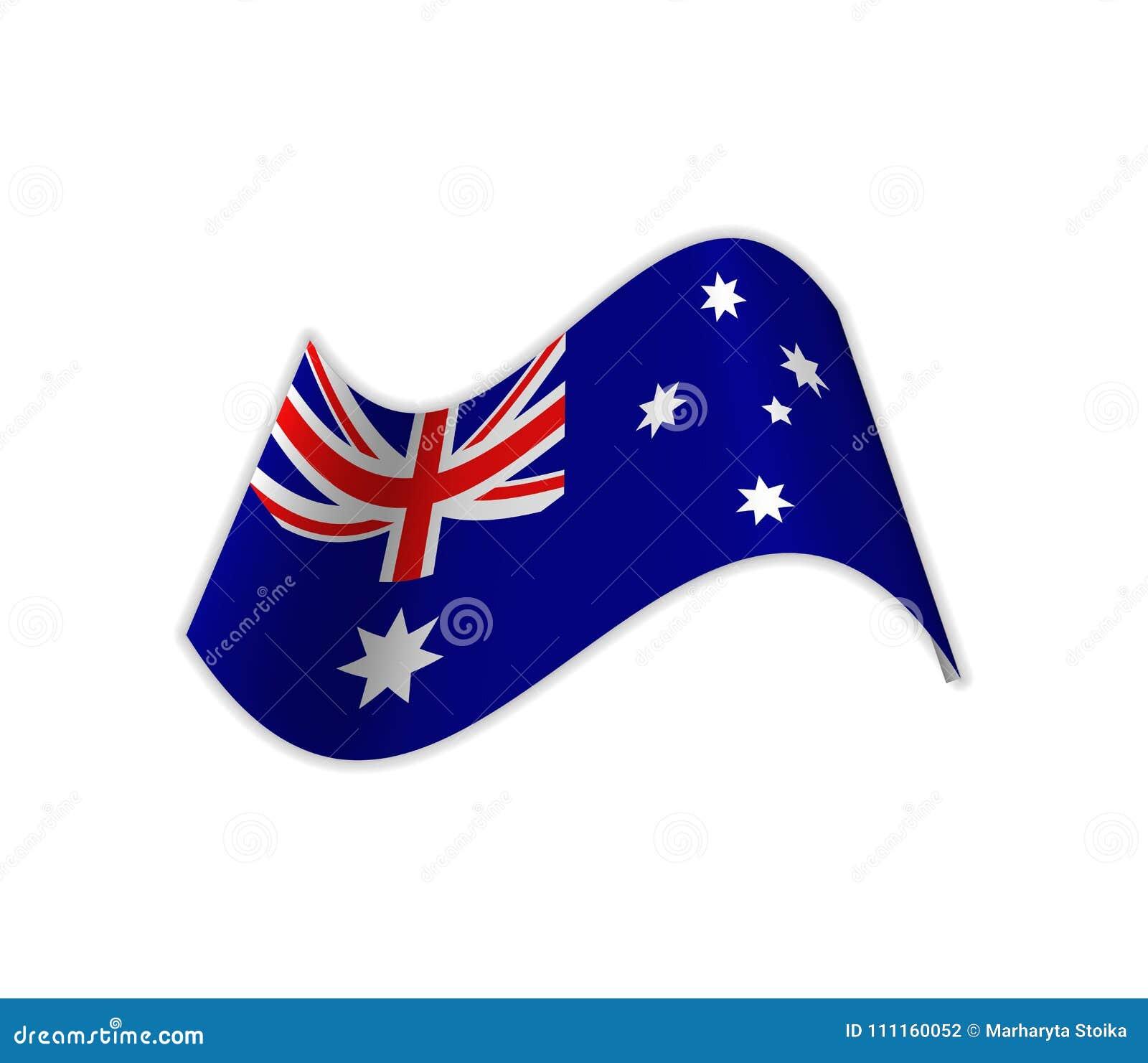 A bandeira de Austrália