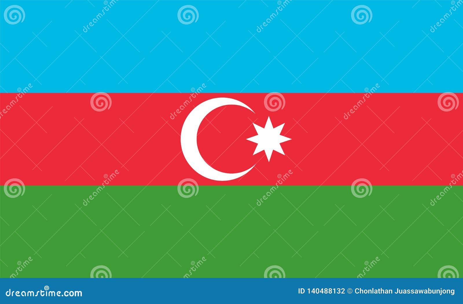 Bandeira de Azerbaijão
