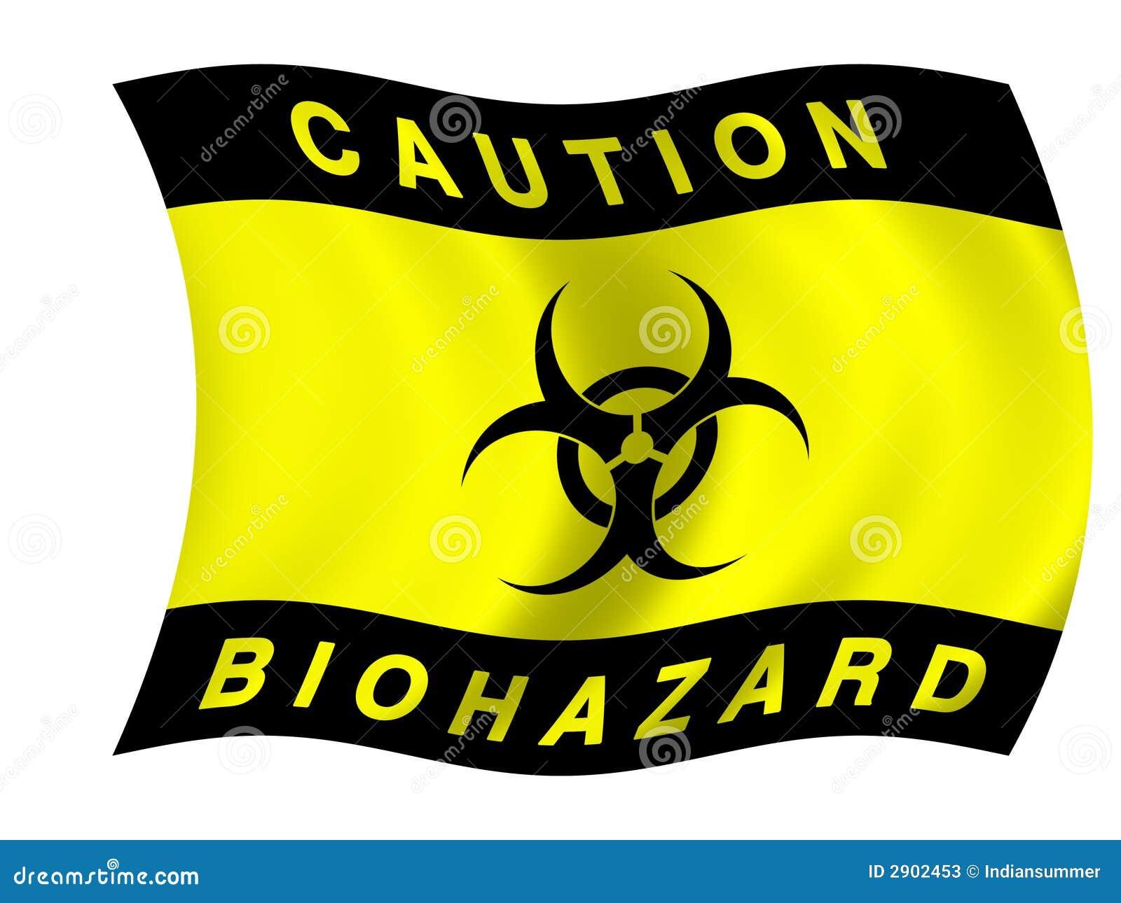 Bandeira de Biohazard