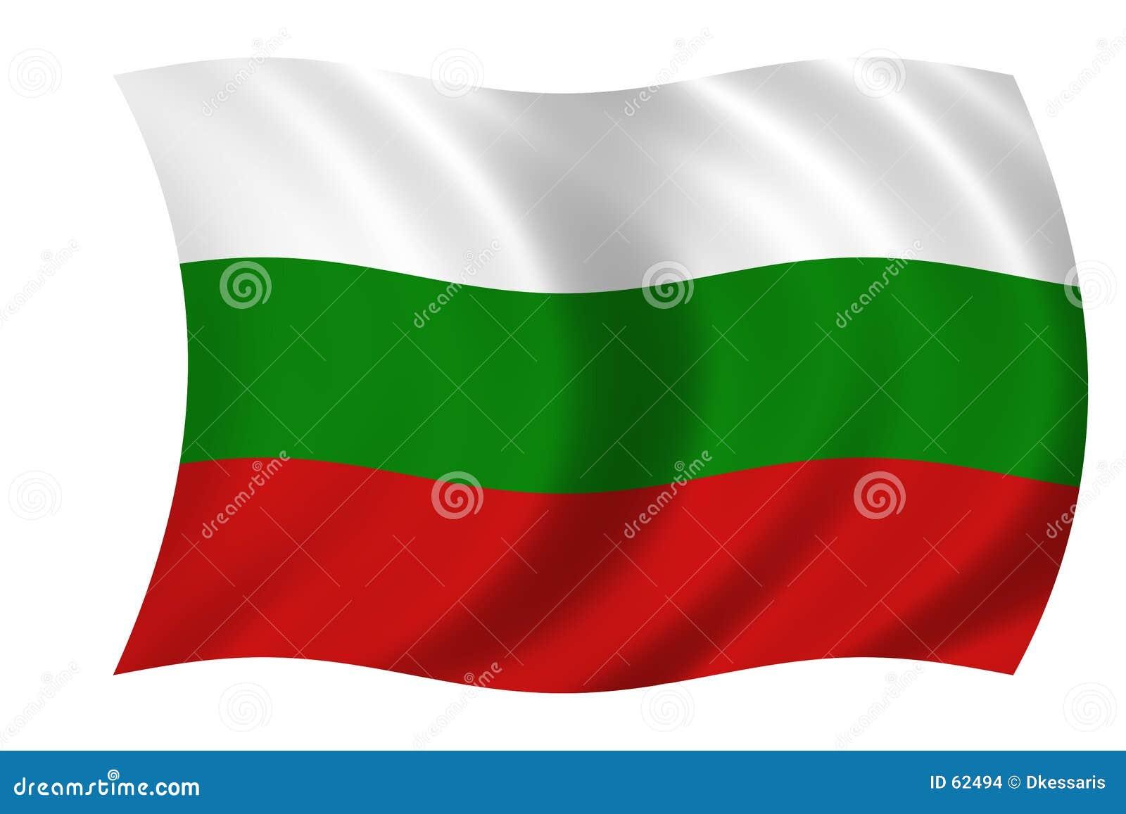 Bandeira de Bulgária