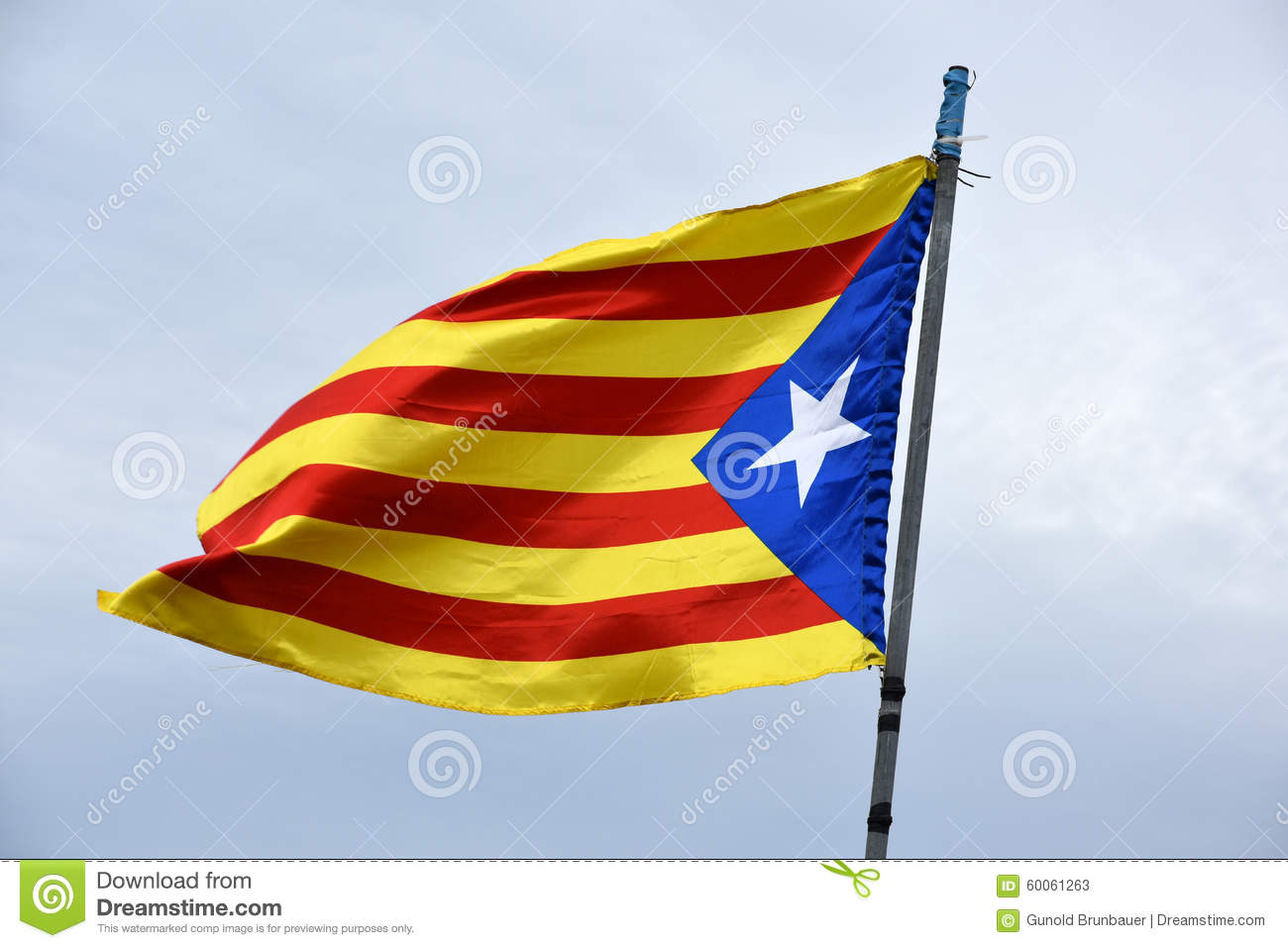 Bandeira de Catalonia independente