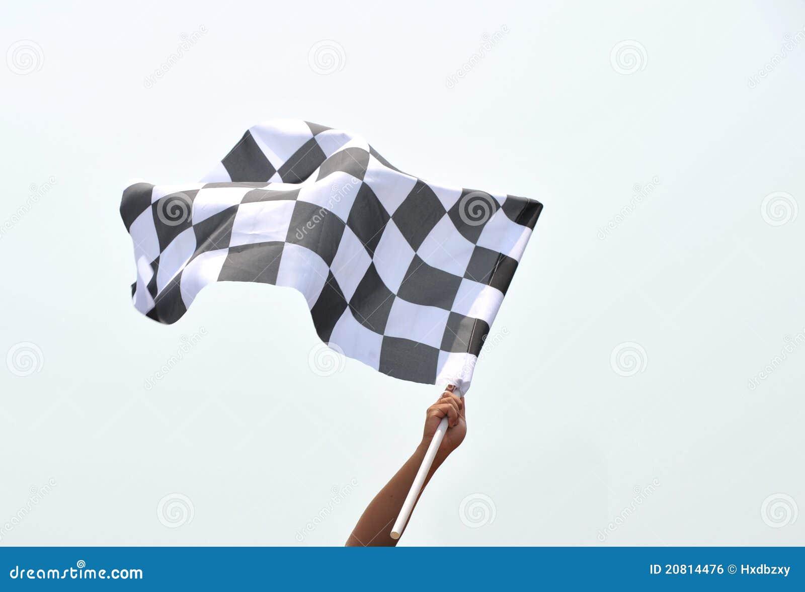 Bandeira de competência Checkered