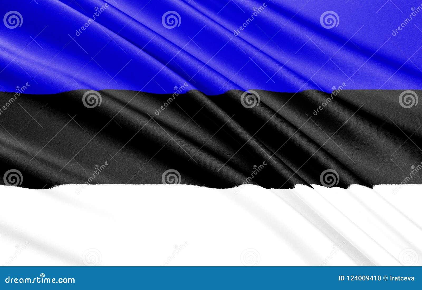 Bandeira de Estónia