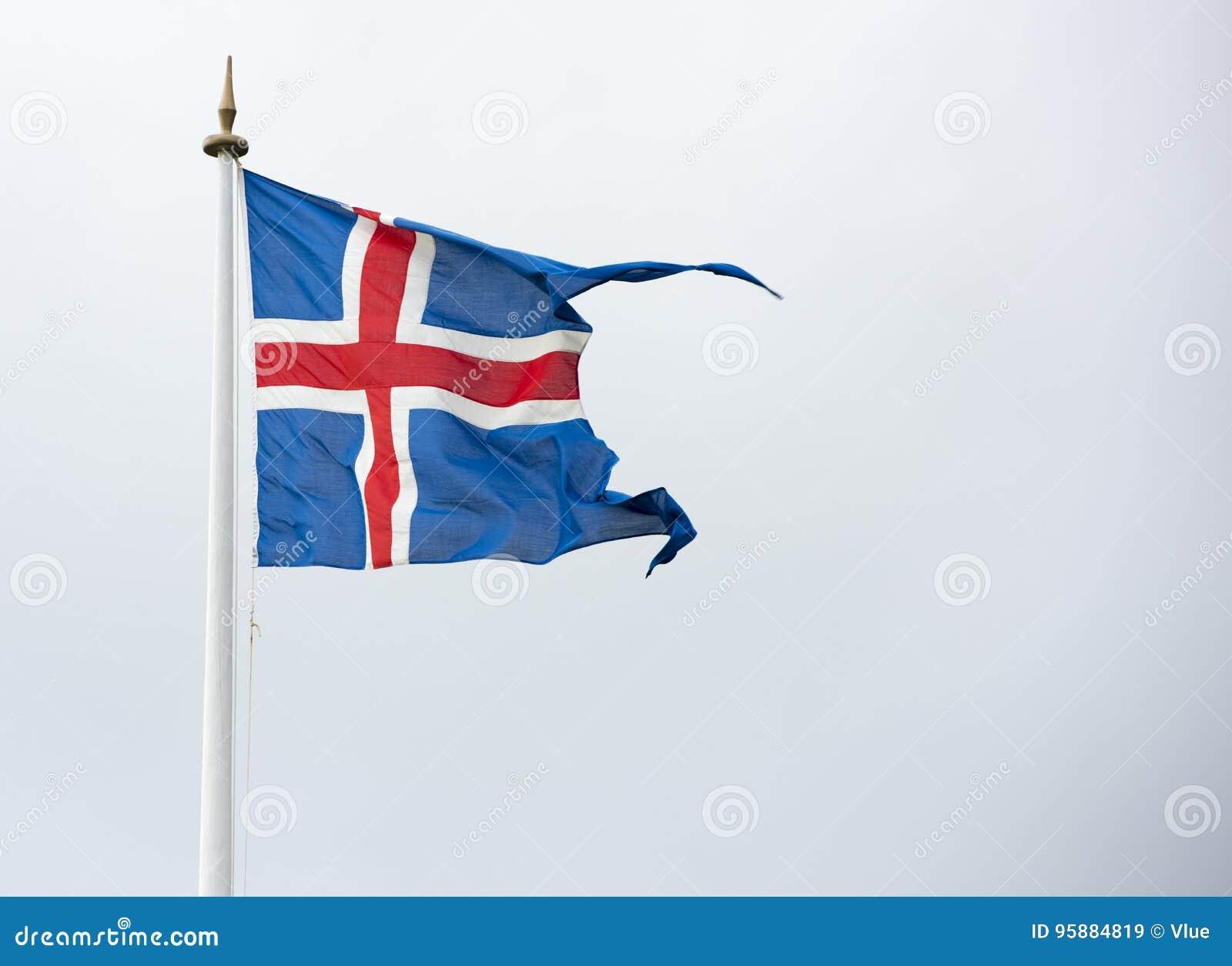 Bandeira de Islândia - bandeira de Islândia - bandeira islandêsa