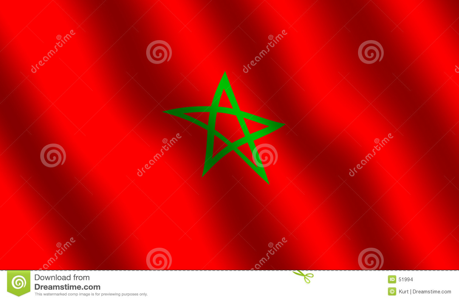 Bandeira de Moroccon