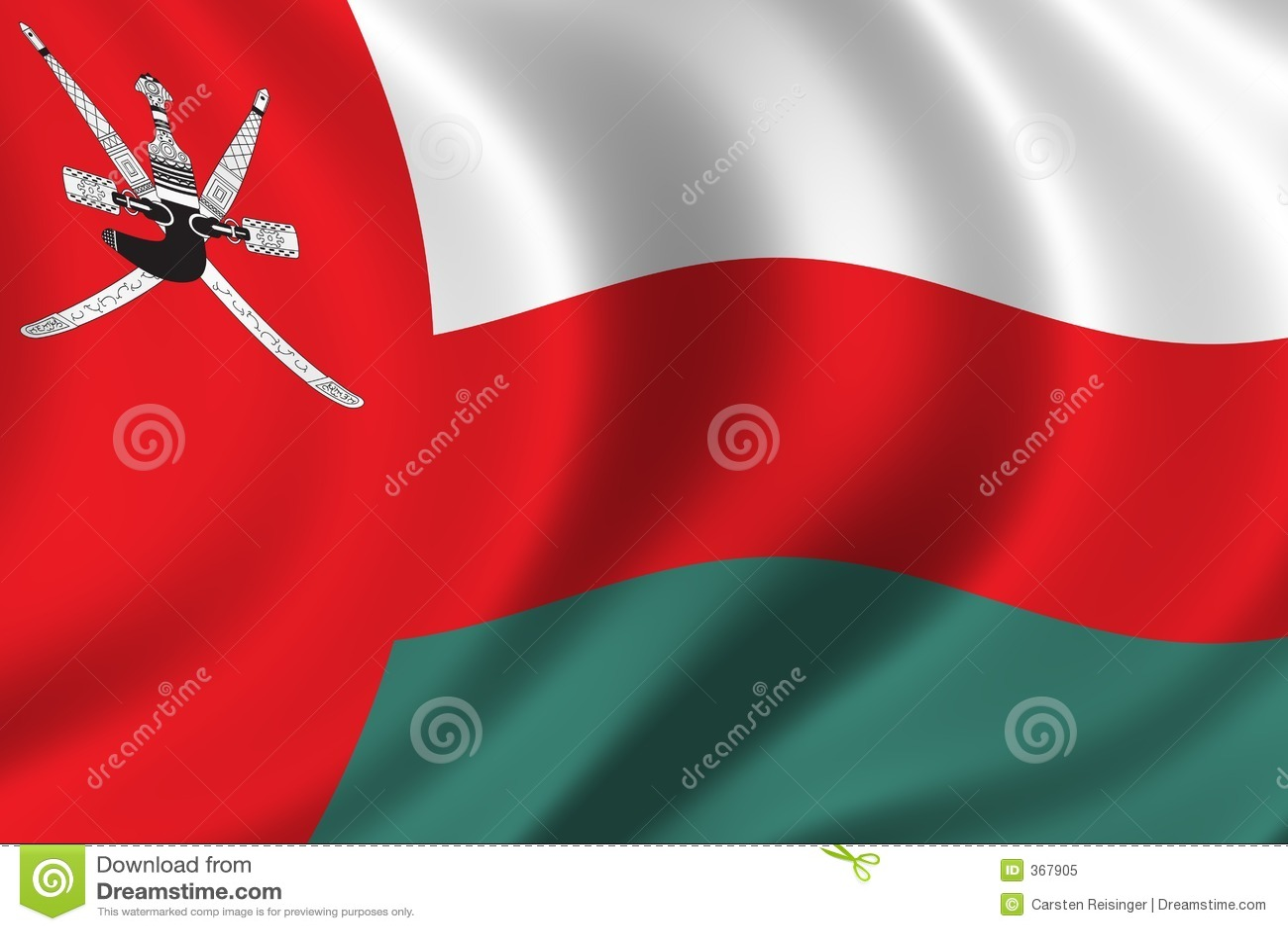 Bandeira de Oman