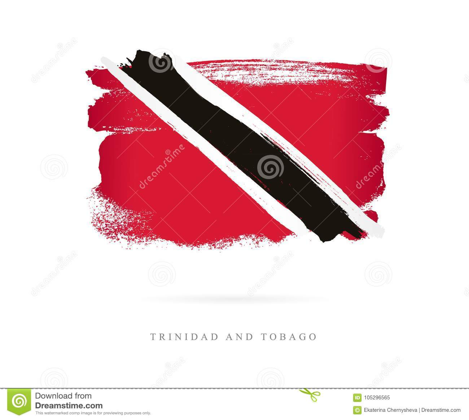 Bandeira de Trinidad And Tobago