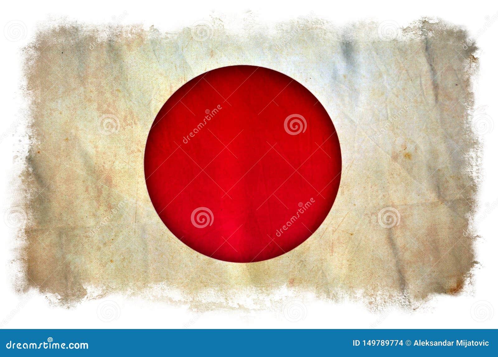 Bandeira do grunge de Jap?o