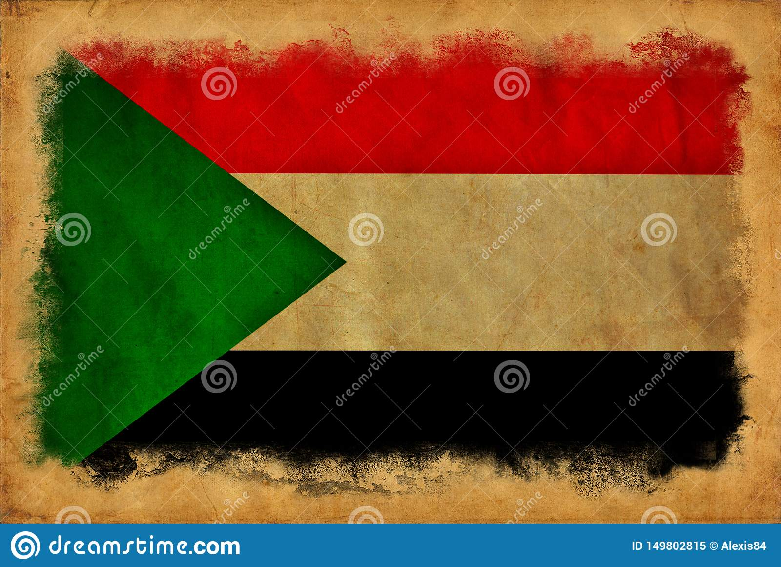 Bandeira do Grunge de Sud?o