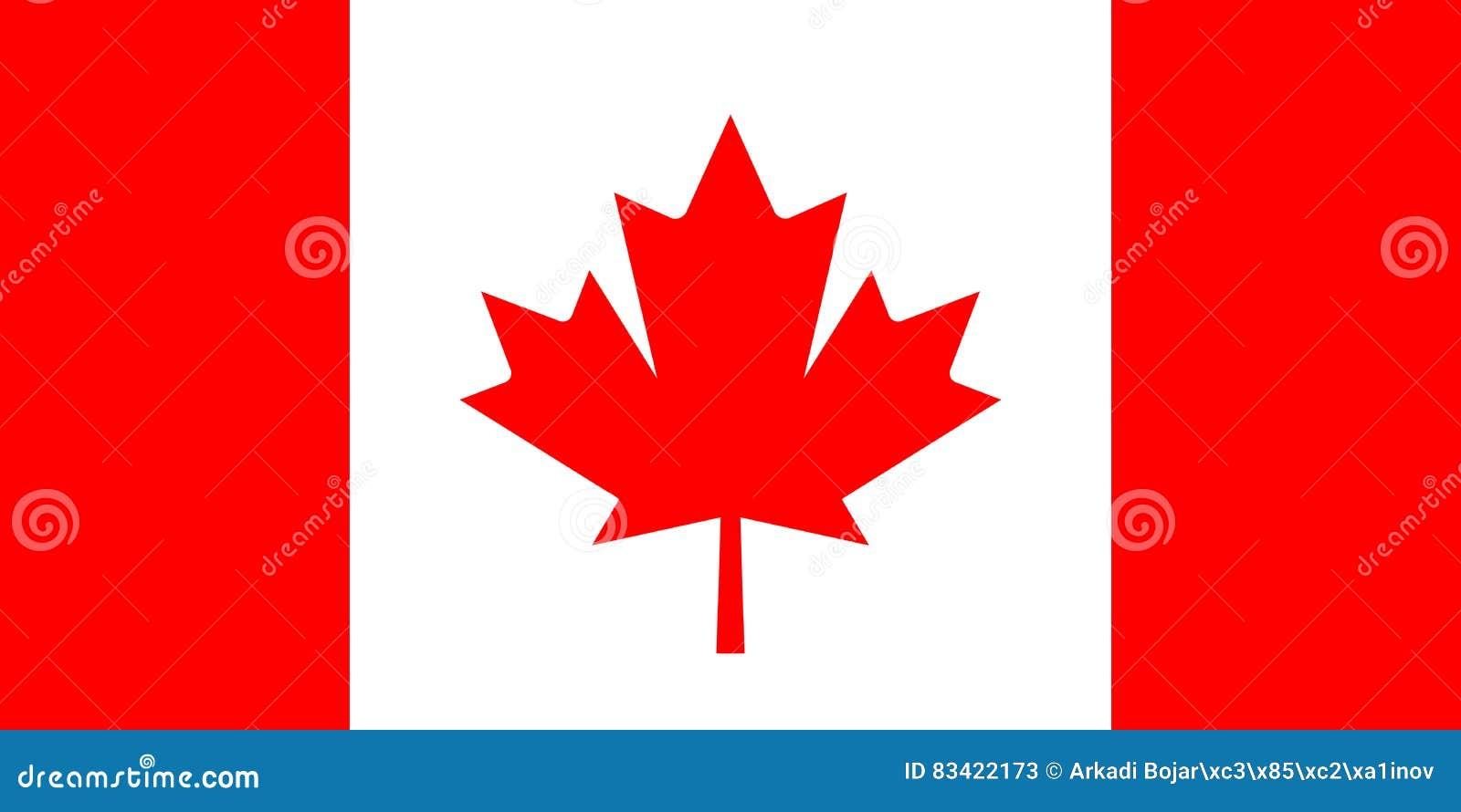 Bandeira do vetor de Canadá