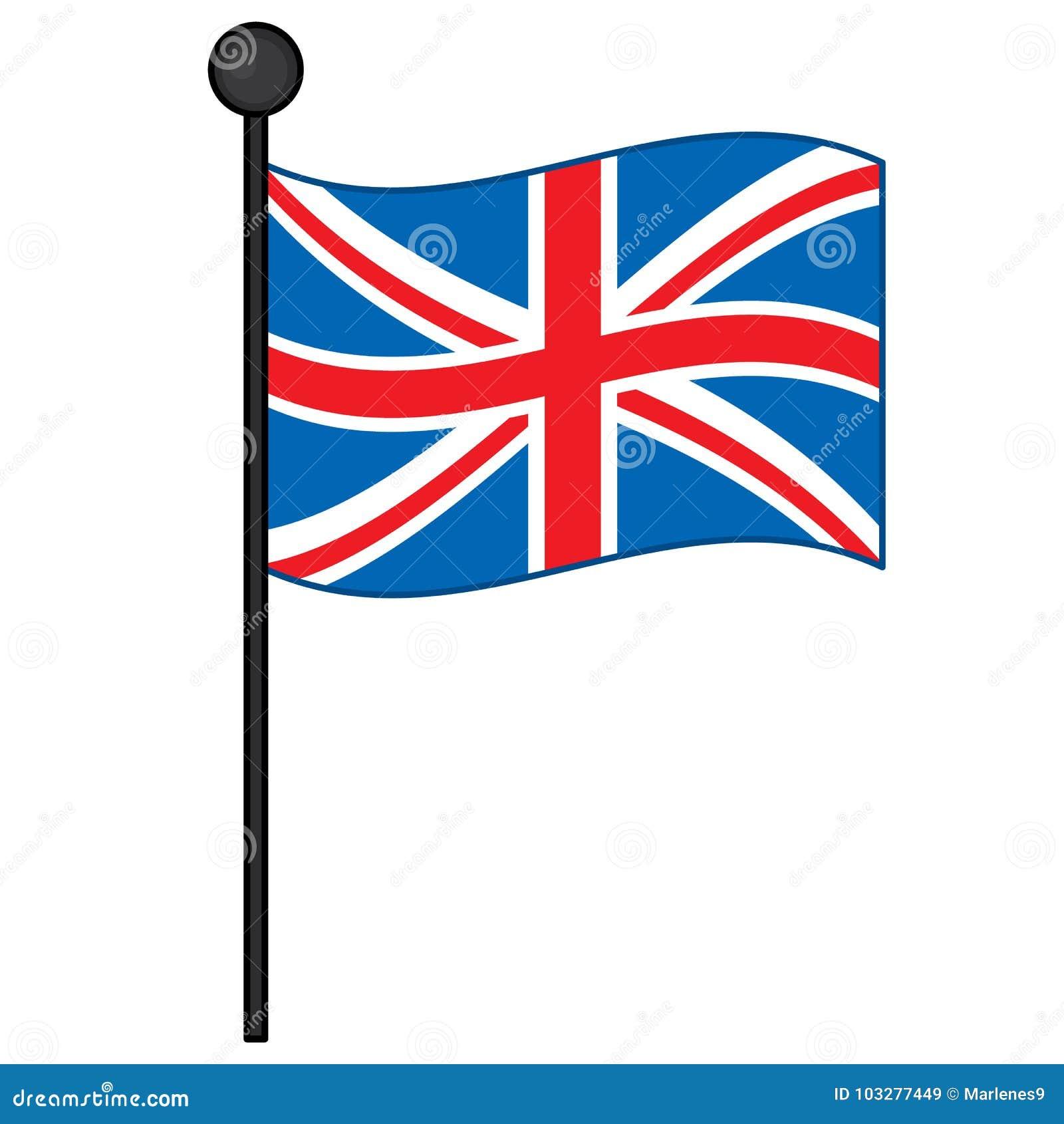 Bandeira do vetor do Reino Unido Vetor Union Jack