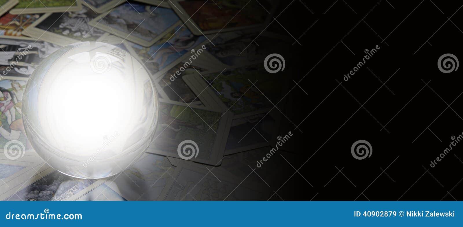 Bandeira do Web site do leitor do tarô