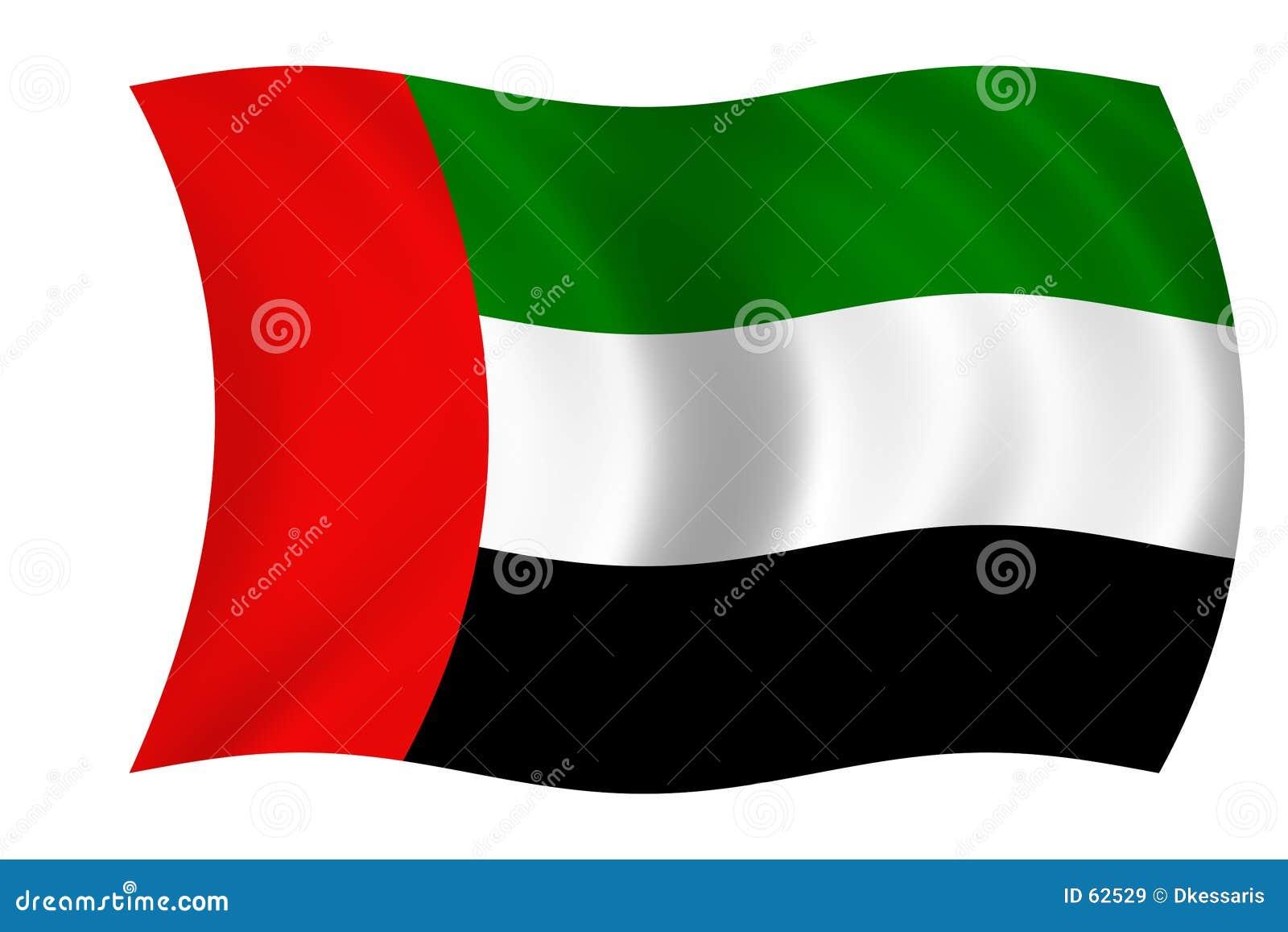 Bandeira dos United Arab Emirates