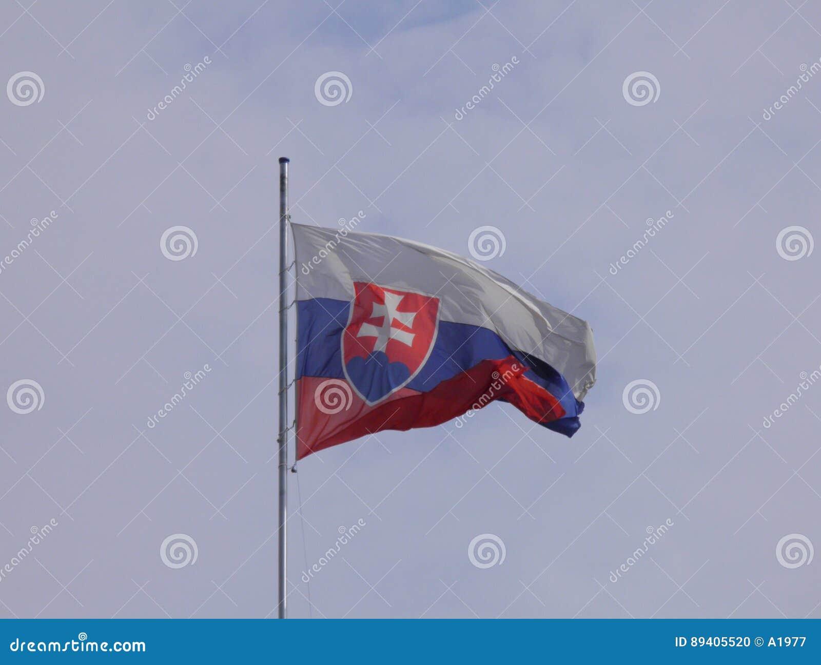 Bandeira eslovaca de Eslováquia