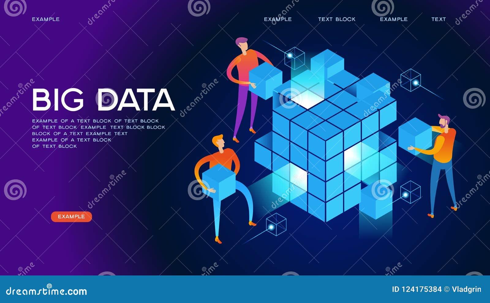 Bandeira grande da Web dos dados