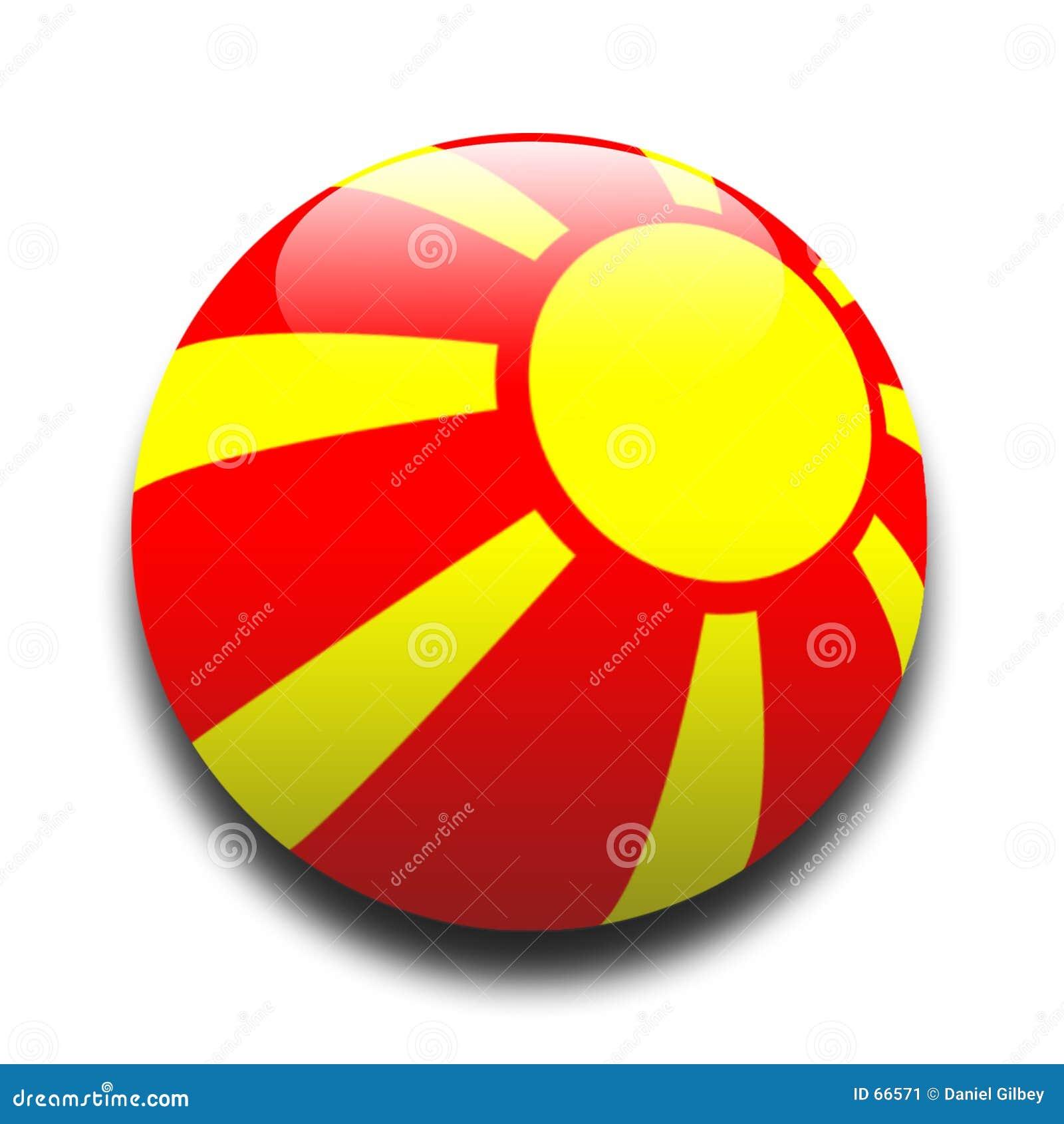 Bandeira macedónia