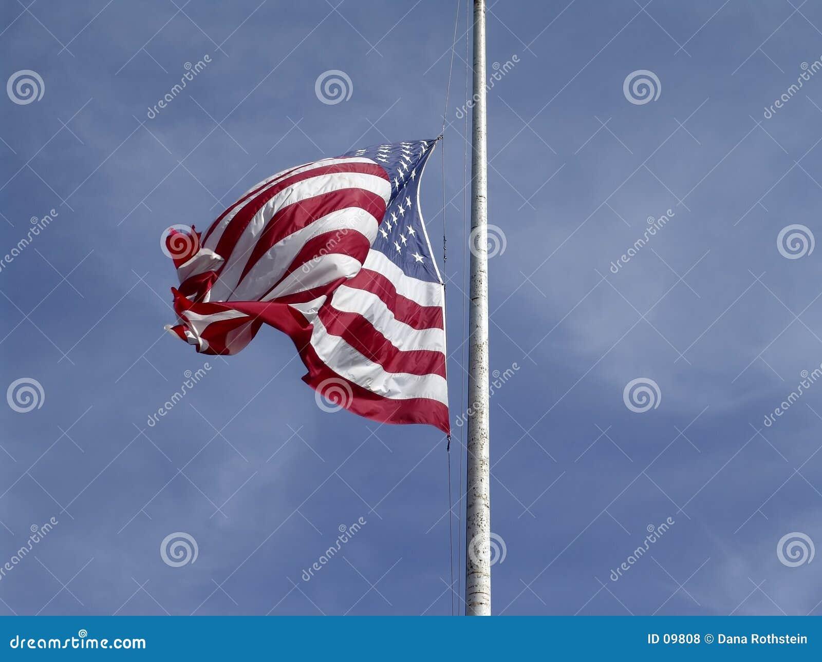 Bandeira na meia massa