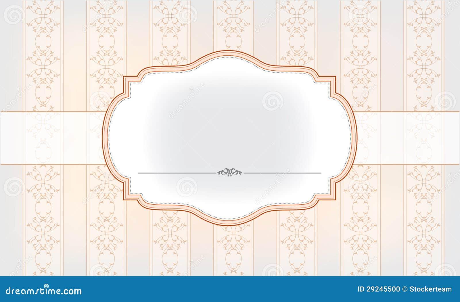 Download Bandeira no fundo bonito ilustração stock. Ilustração de luxo - 29245500