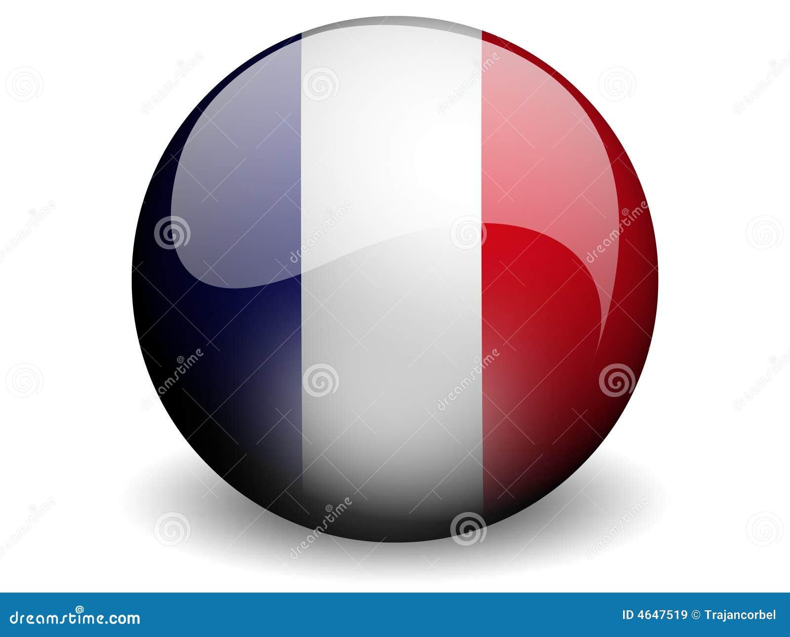 Bandeira redonda de France