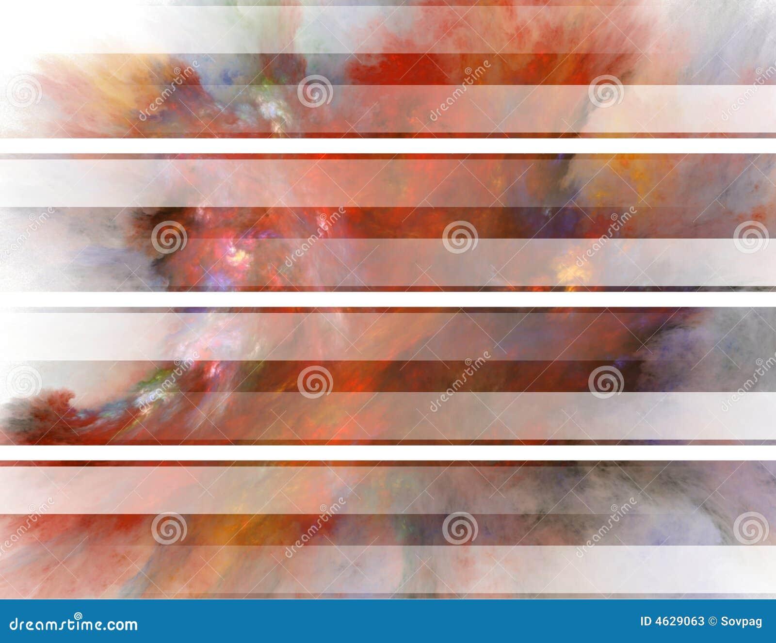 Bandeiras abstratas