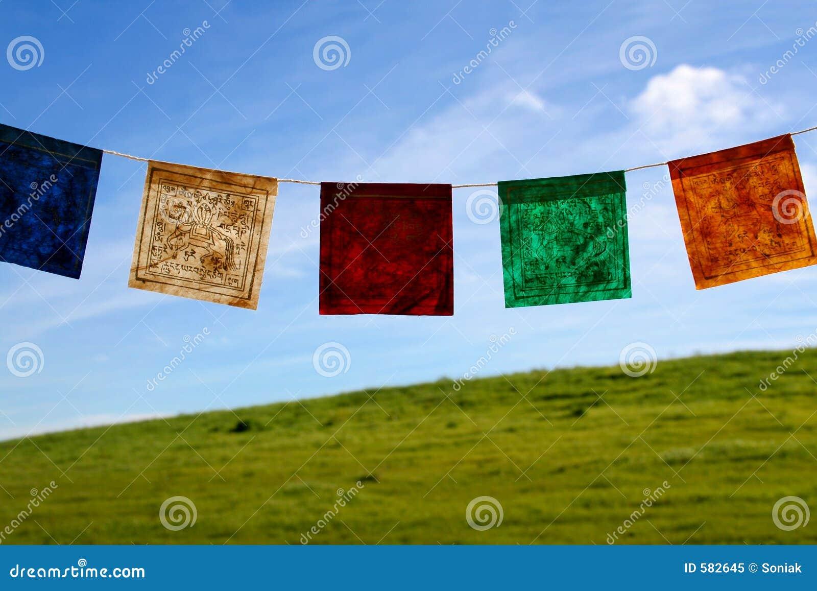 Bandeiras da oração