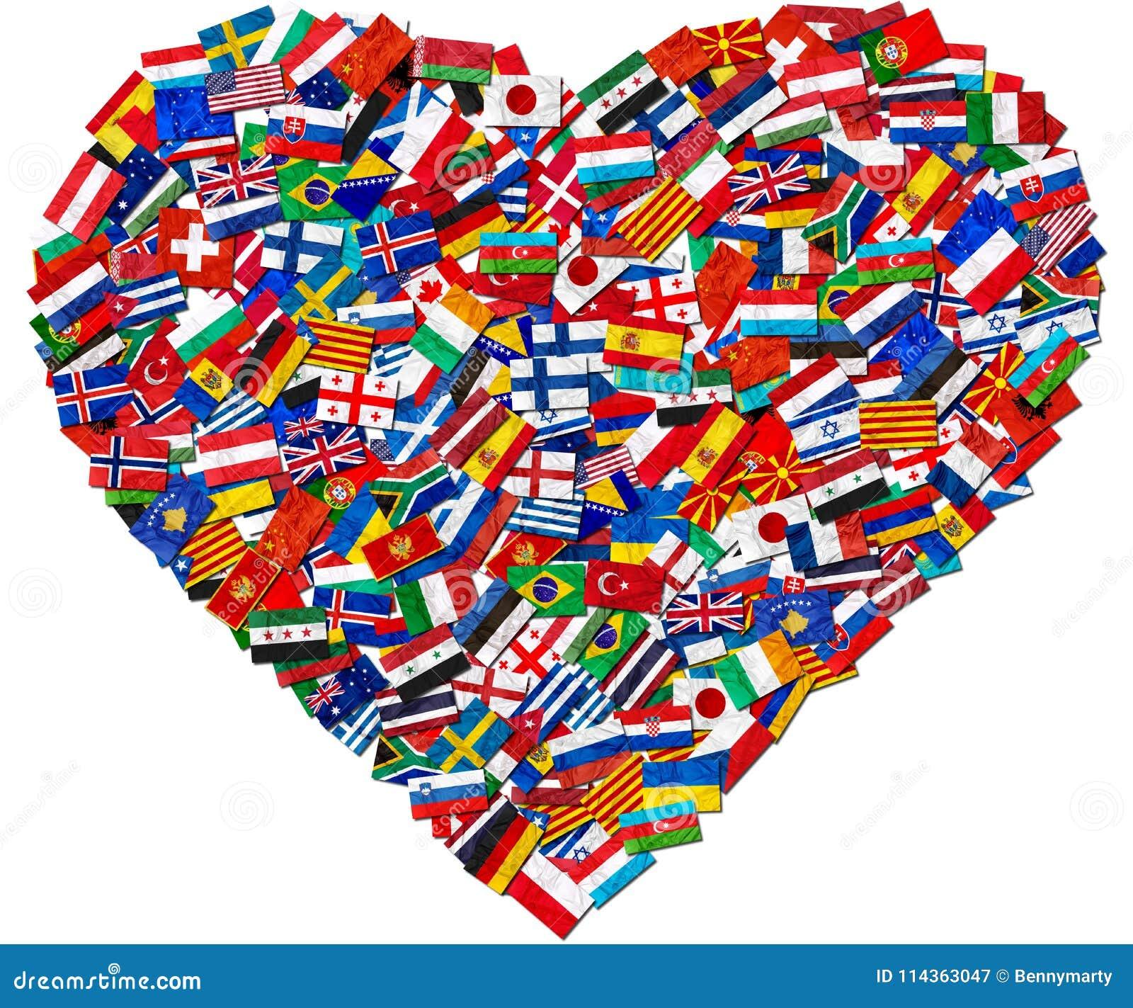 Bandeiras de países do mundo