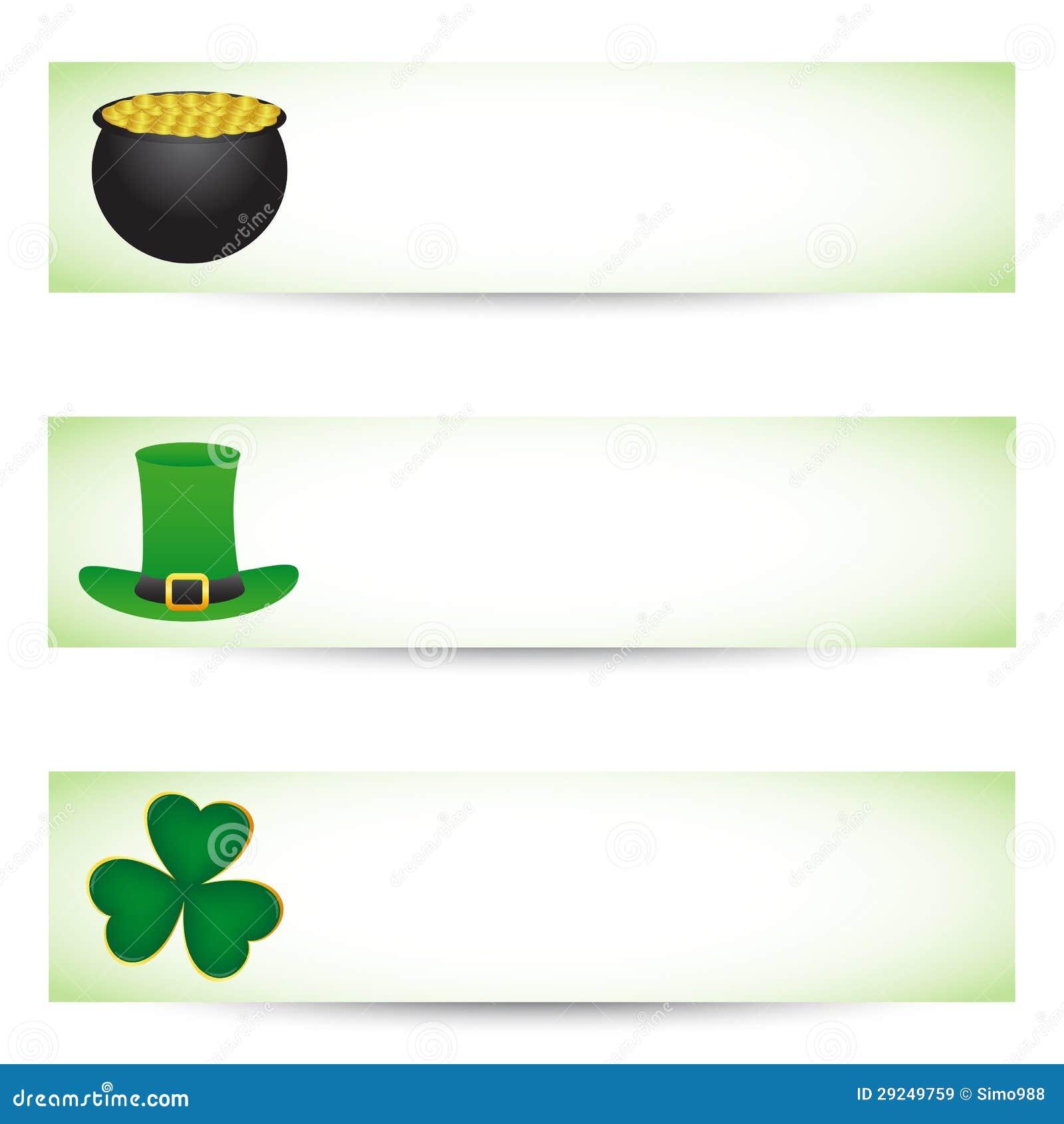 Download Bandeiras Do Dia Dos Patricks Do St. Ilustração do Vetor - Ilustração de bandeira, coleção: 29249759