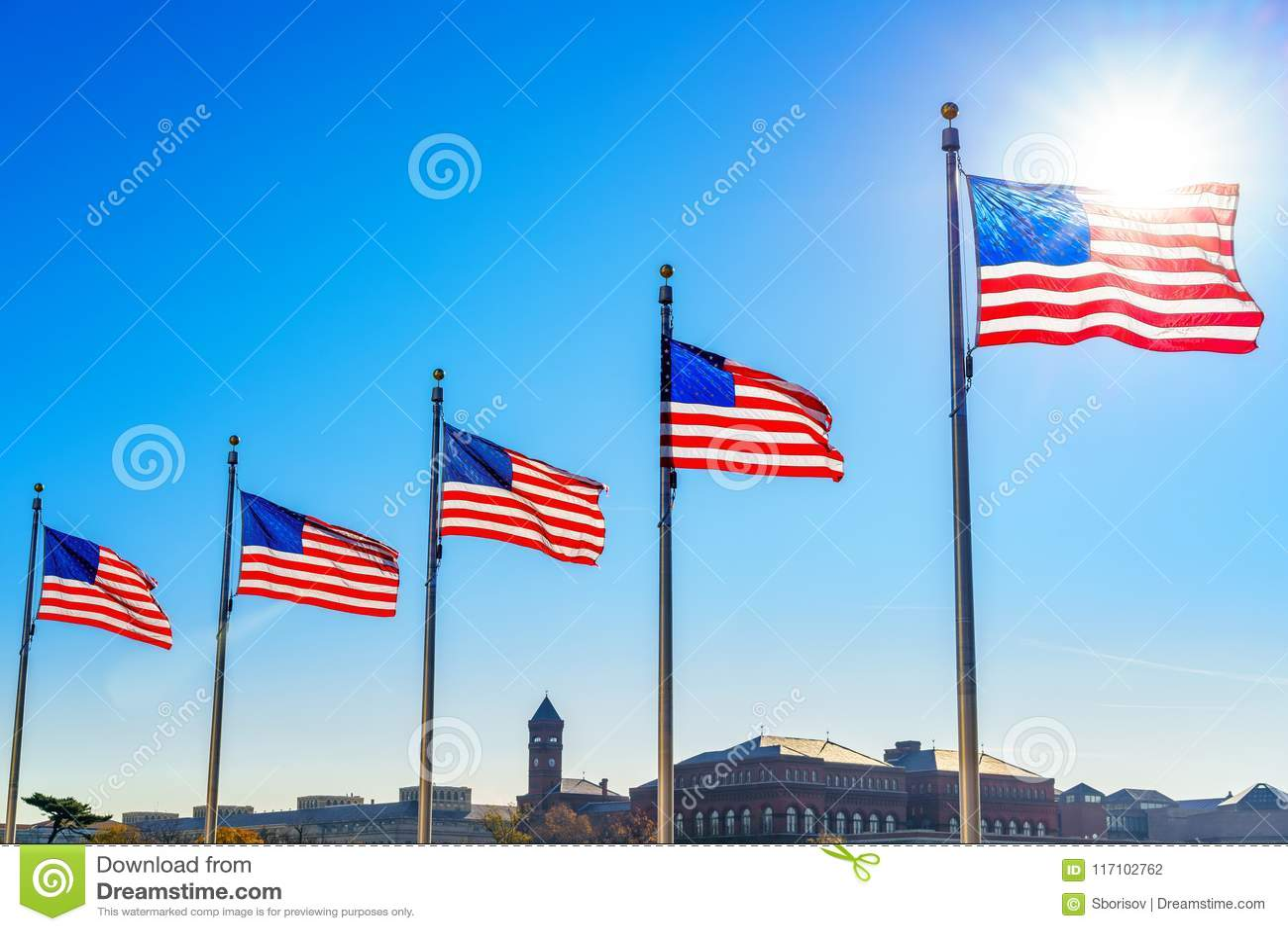 Bandeiras do Estados Unidos