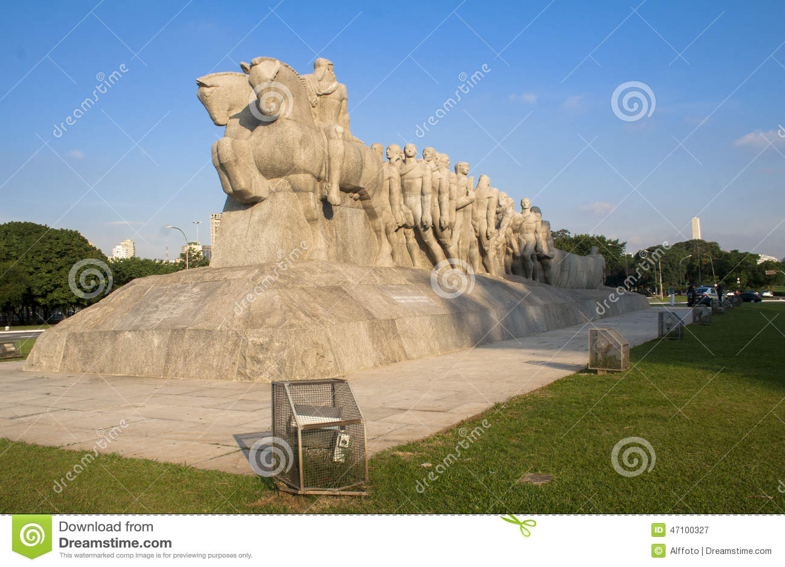 Bandeiras-Monument