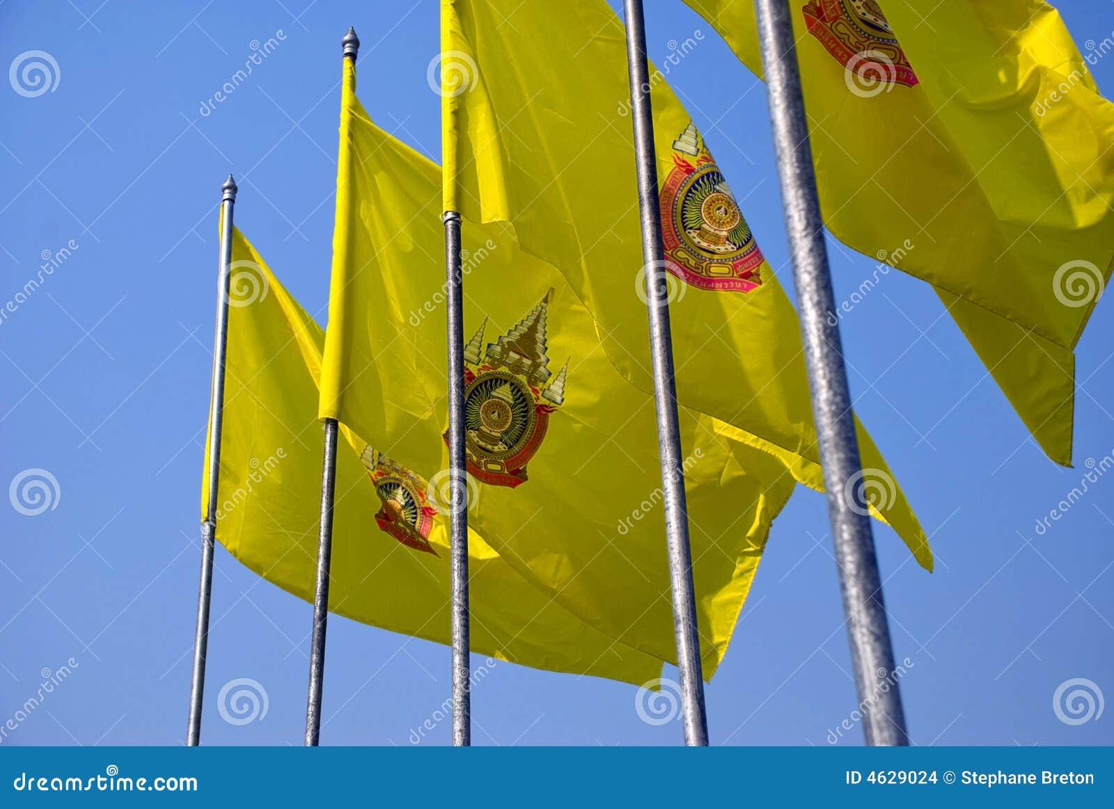 Bandeiras tailandesas