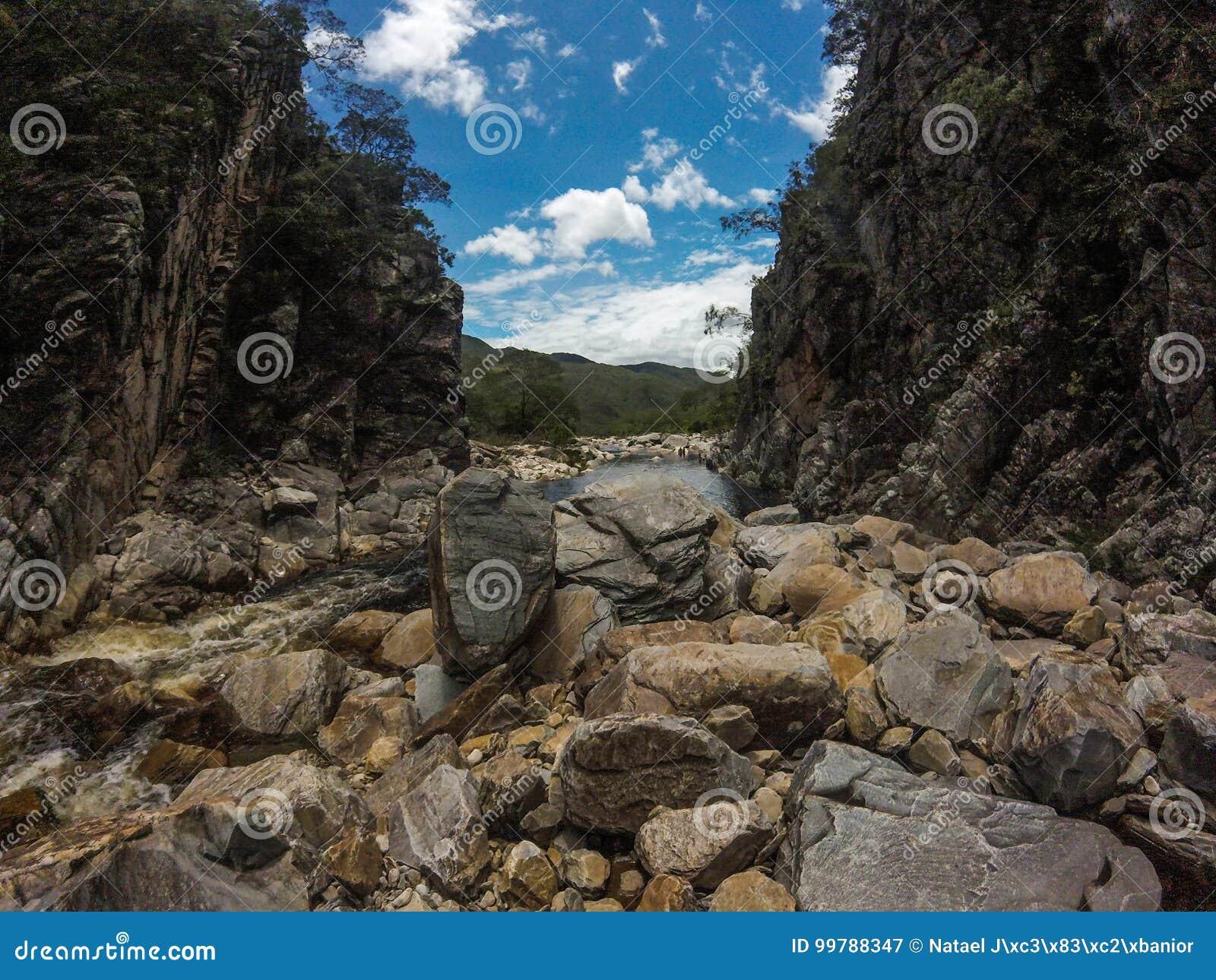 Bandeirinhas峡谷