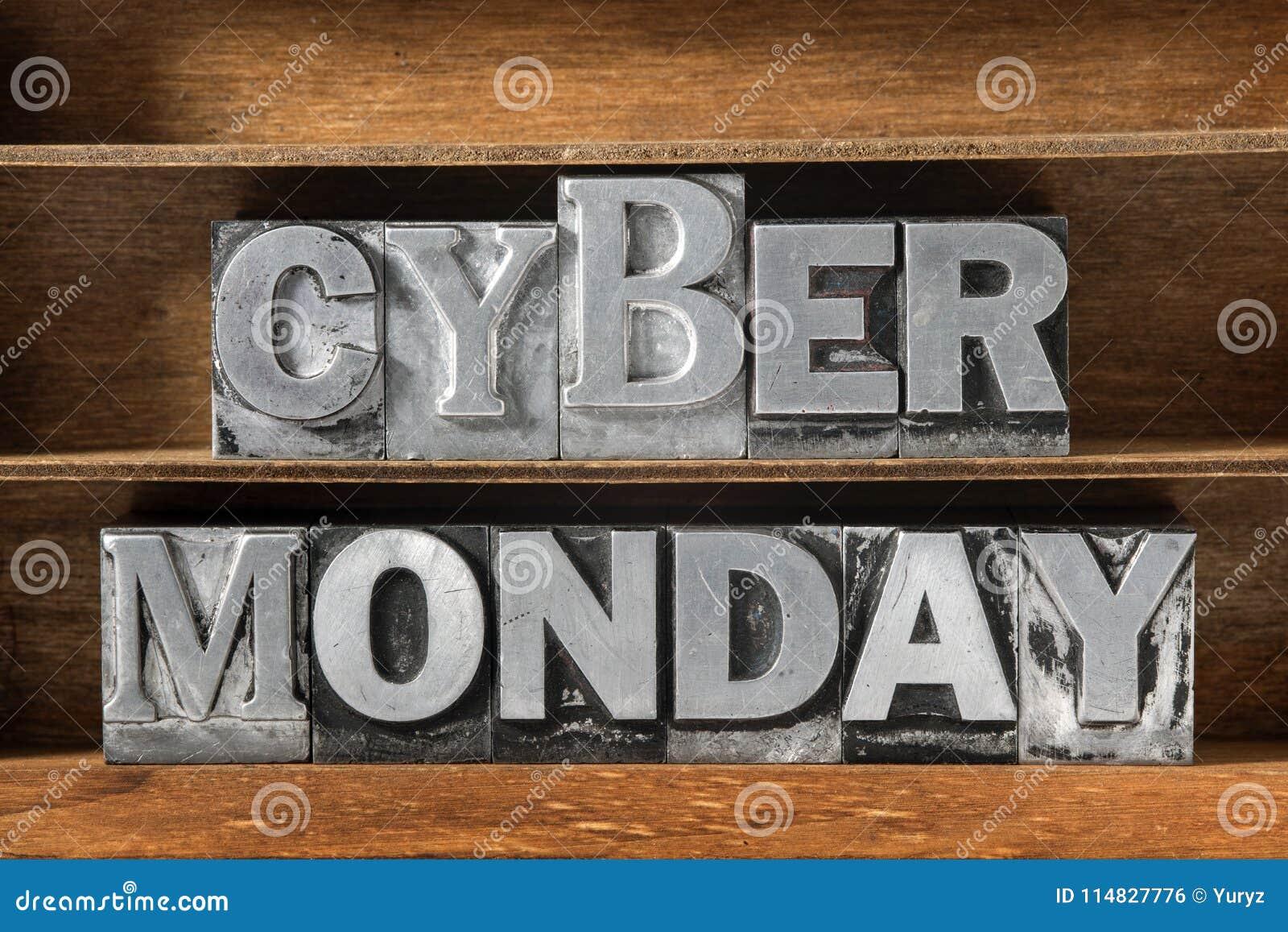 Bandeja de segunda-feira do Cyber