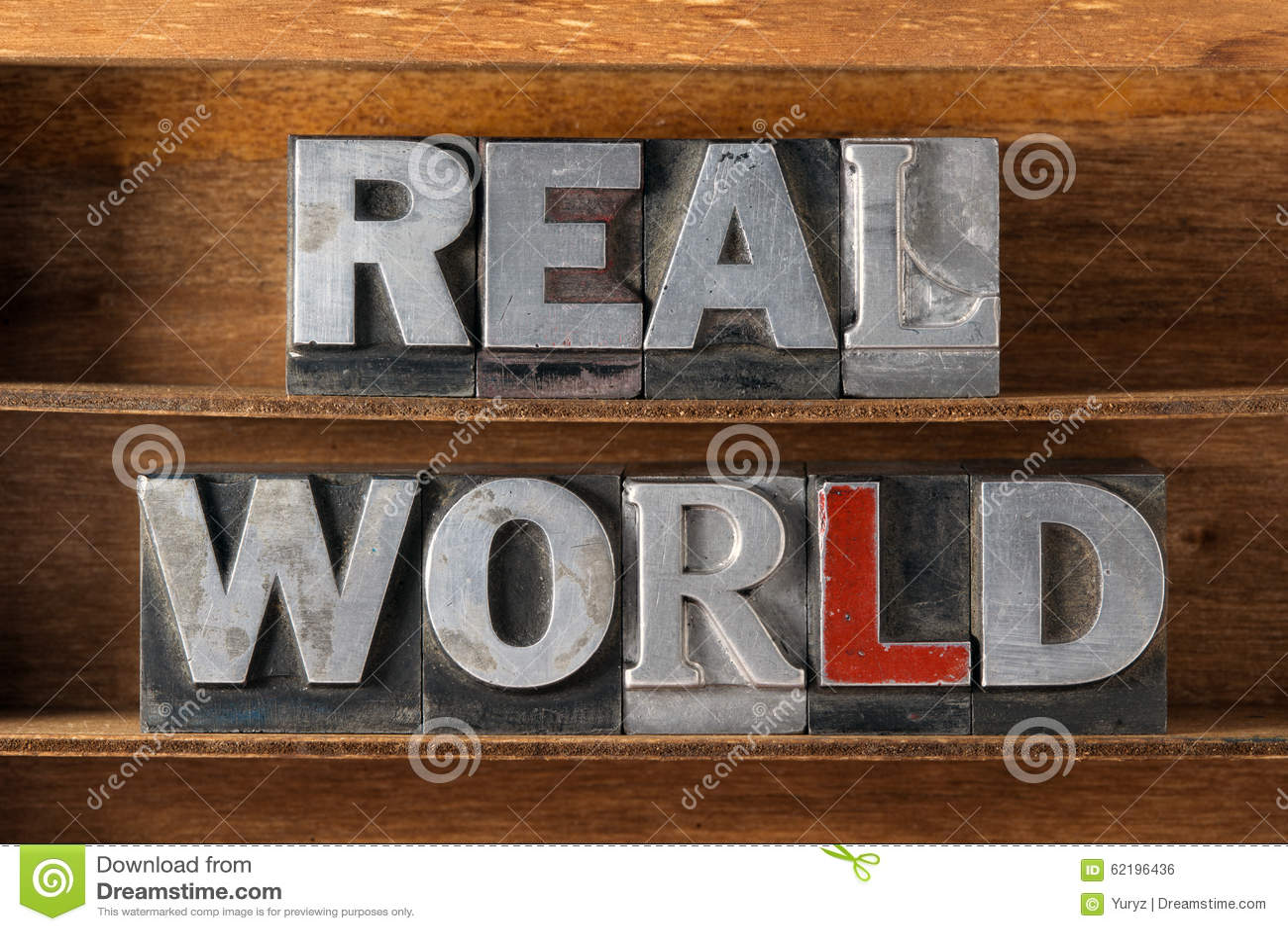 Bandeja del mundo real