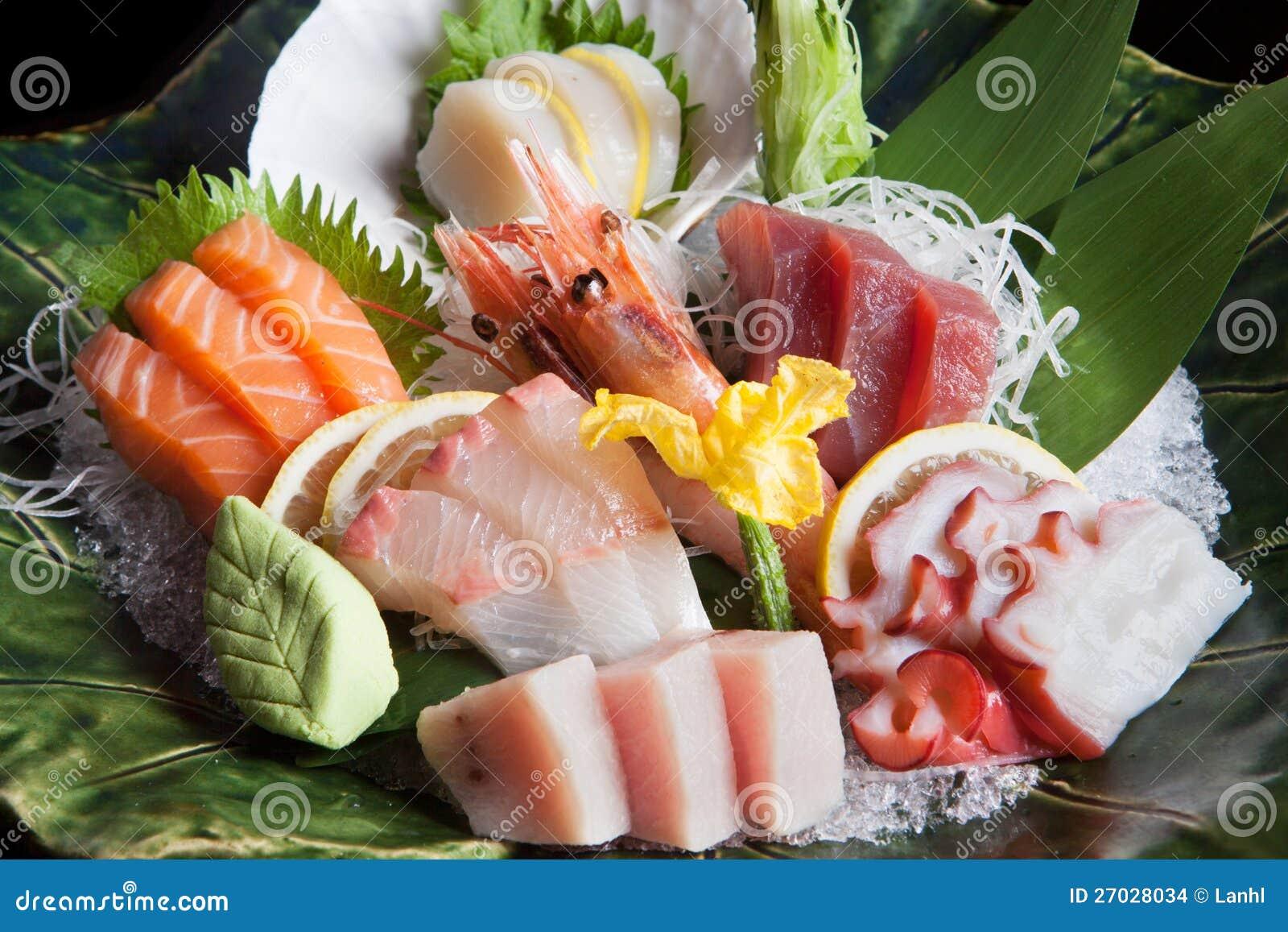 Bandeja do Sashimi