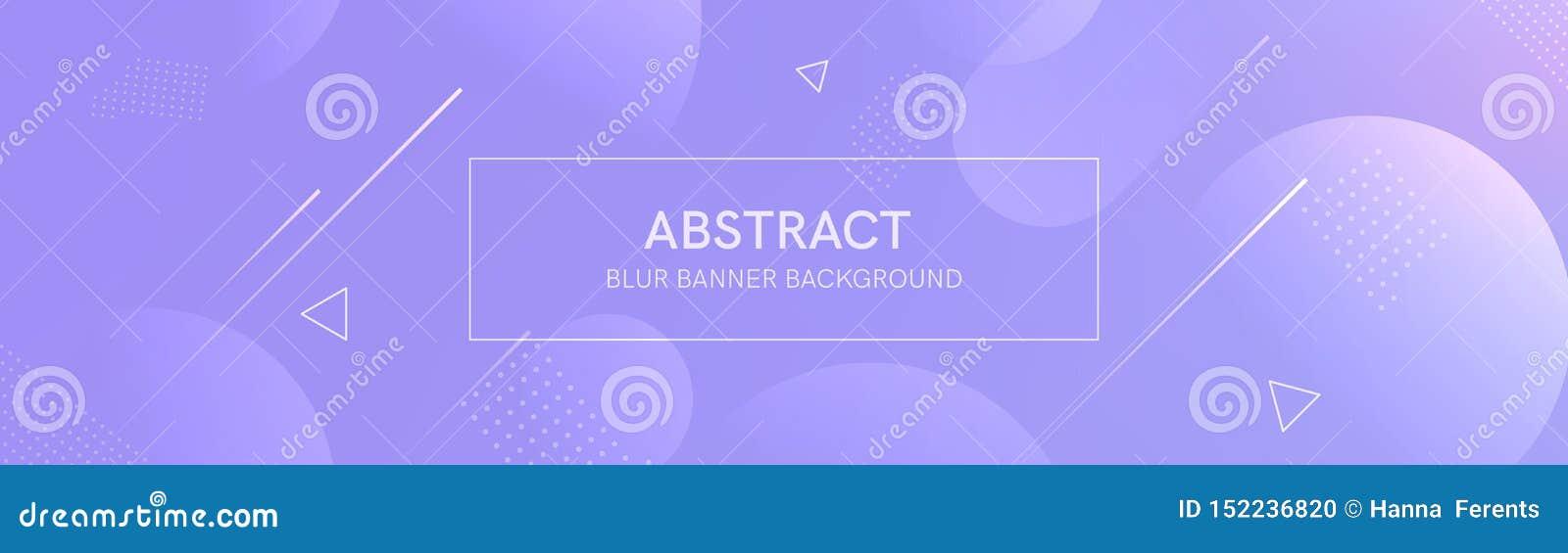 Bandera abstracta con formas de la pendiente y empa?ar el fondo con color de ne?n oscuro Composici?n din?mica de la forma Dise?o