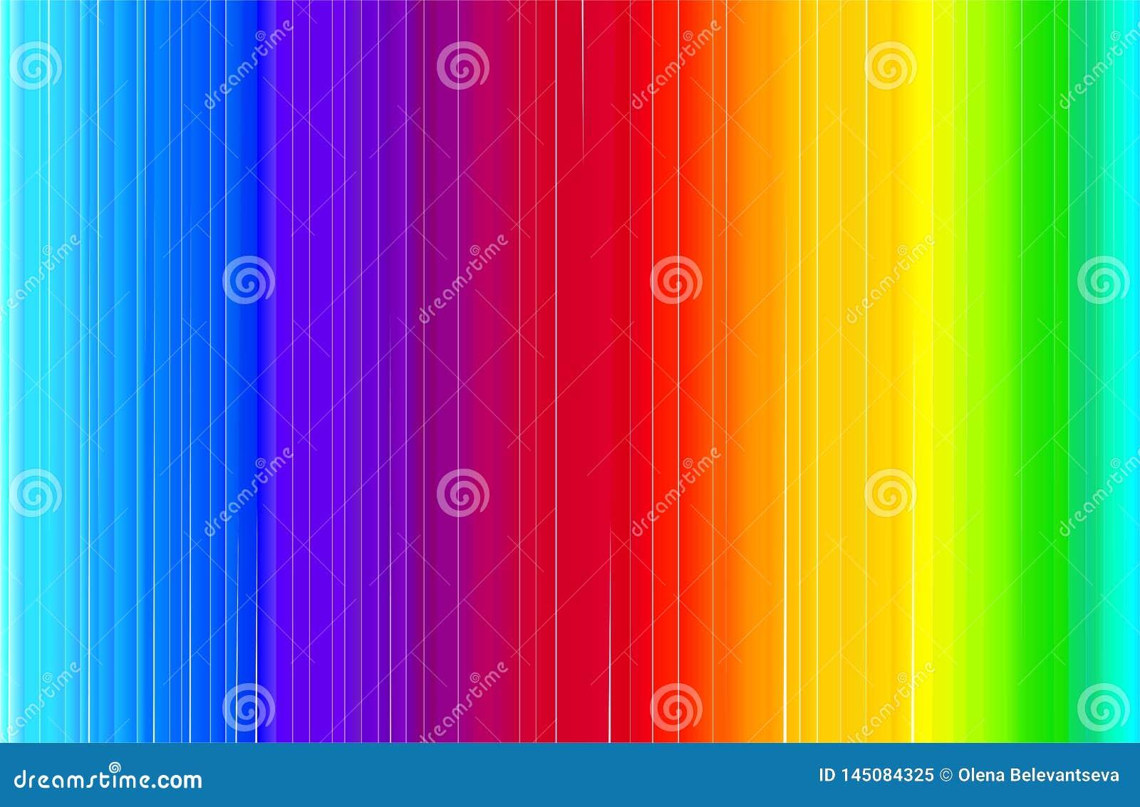 Bandera brillante moderna del extracto en estilo del arco iris