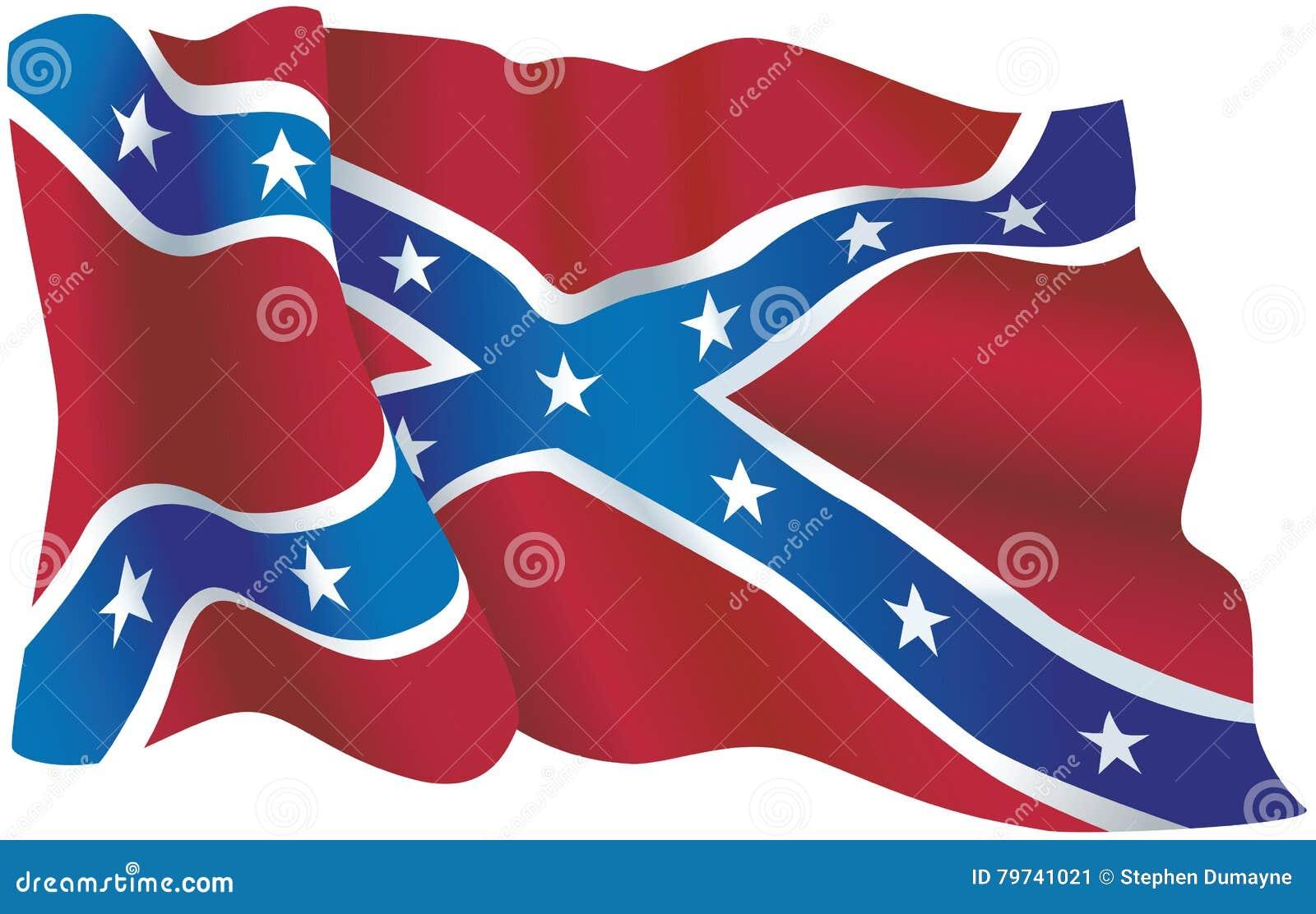 Bandera confederada de los E.E.U.U.
