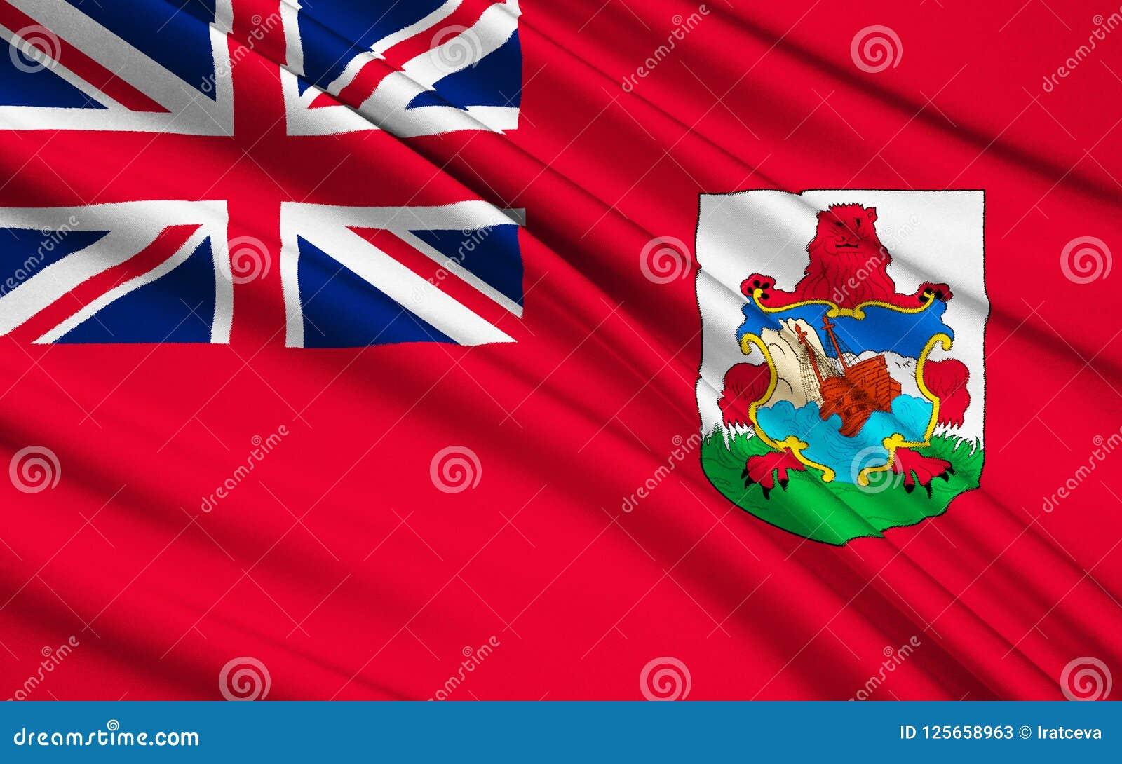 De Bandera Stock Unido BermudasReino Hamilton Ilustración roxBeQCWd