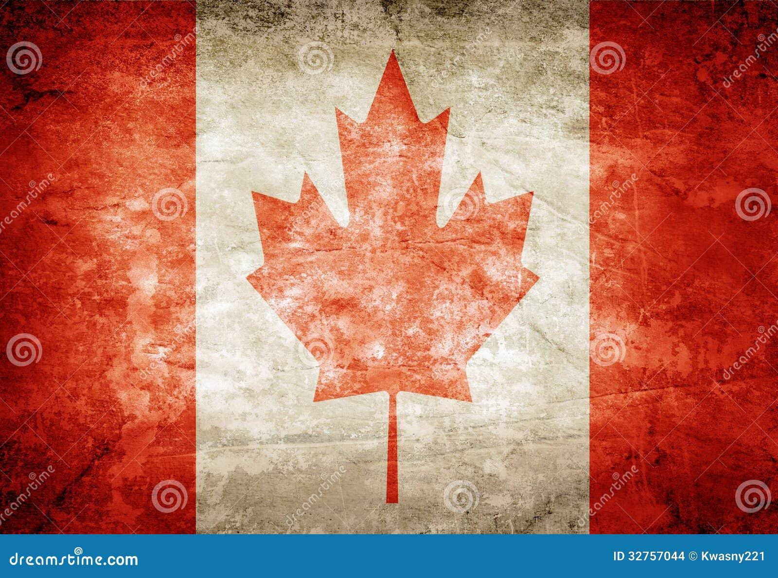Bandera de Canadá foto de archivo. Imagen de lona, patriotismo ...