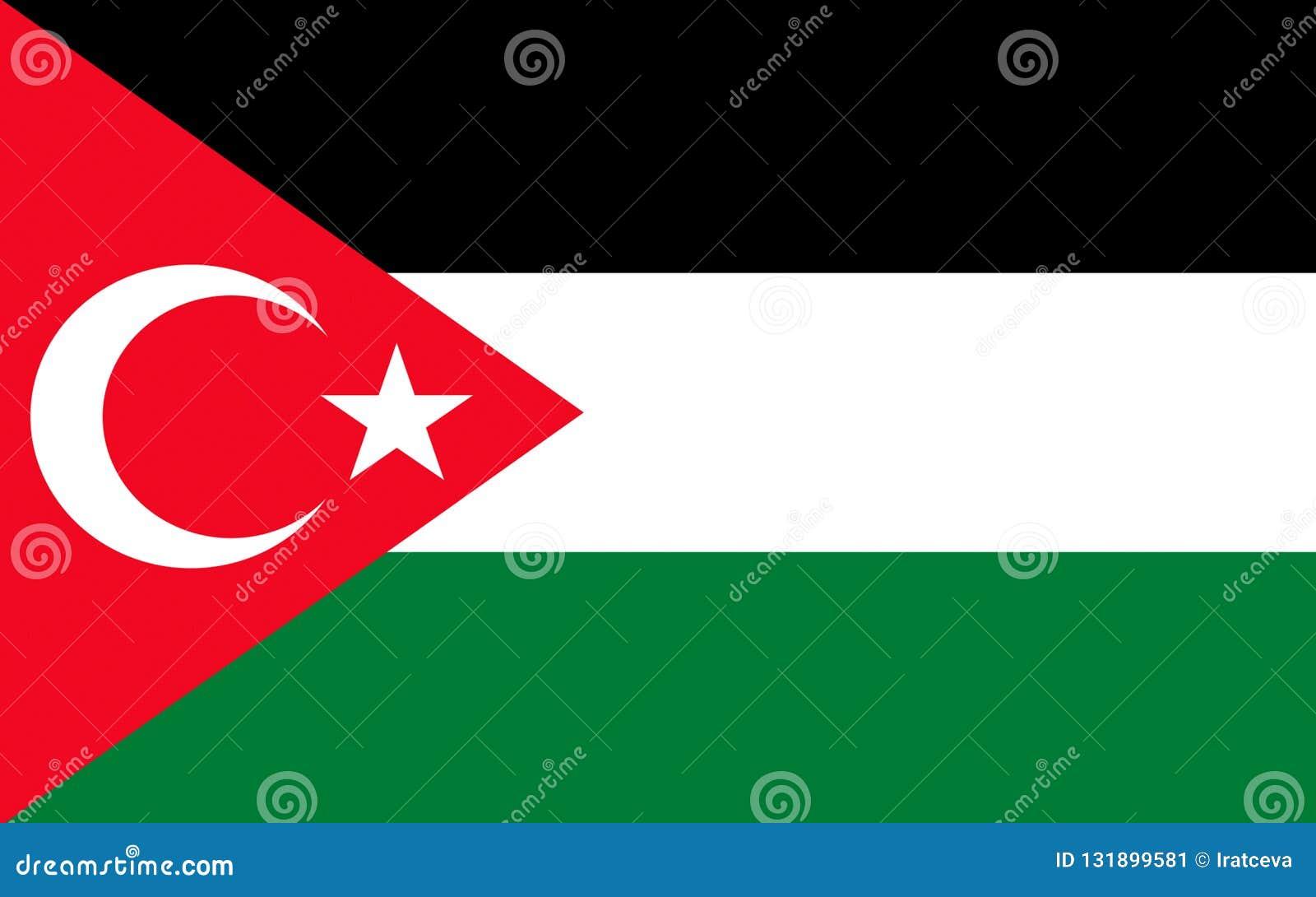 Bandera de Gaza, Palestina