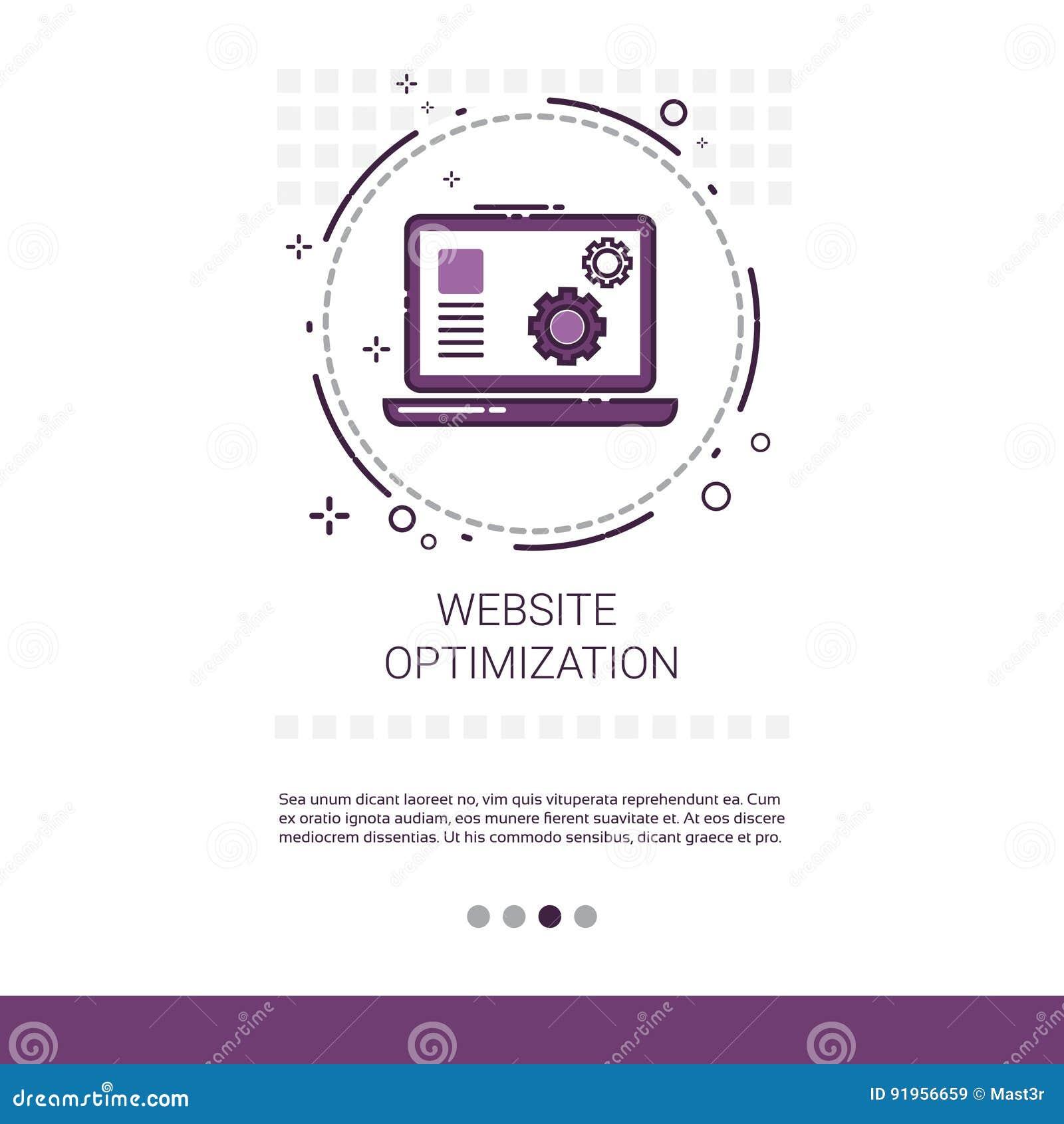 Bandera de la tecnología del dispositivo de programación de equipo de desarrollo del software de la optimización del web con el e