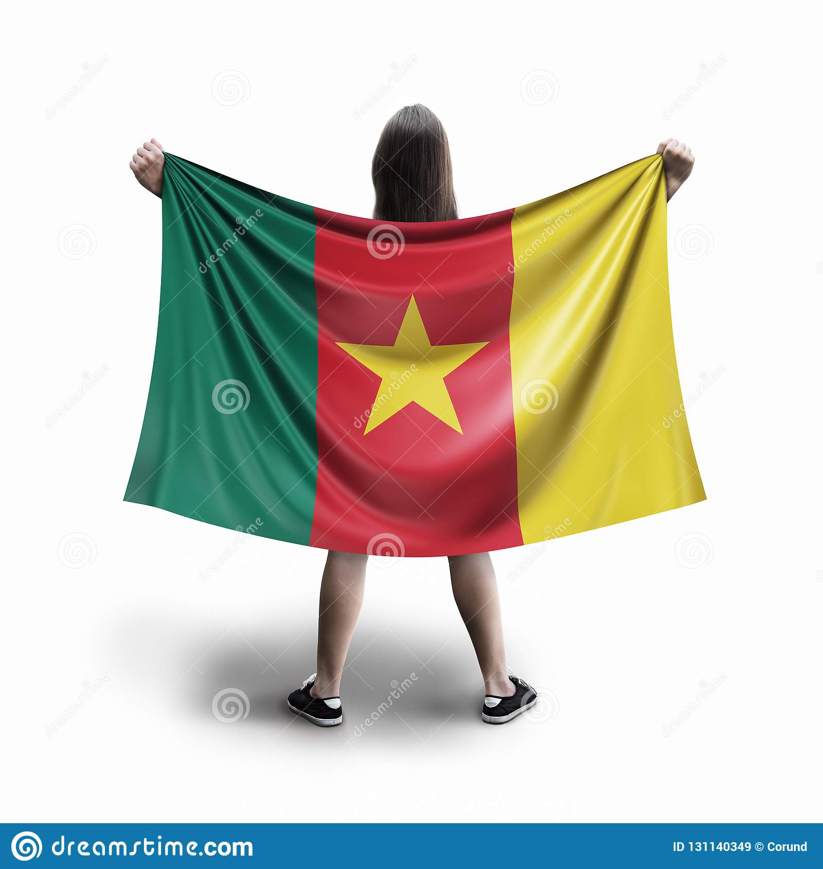 Bandera de las mujeres y del Camerún