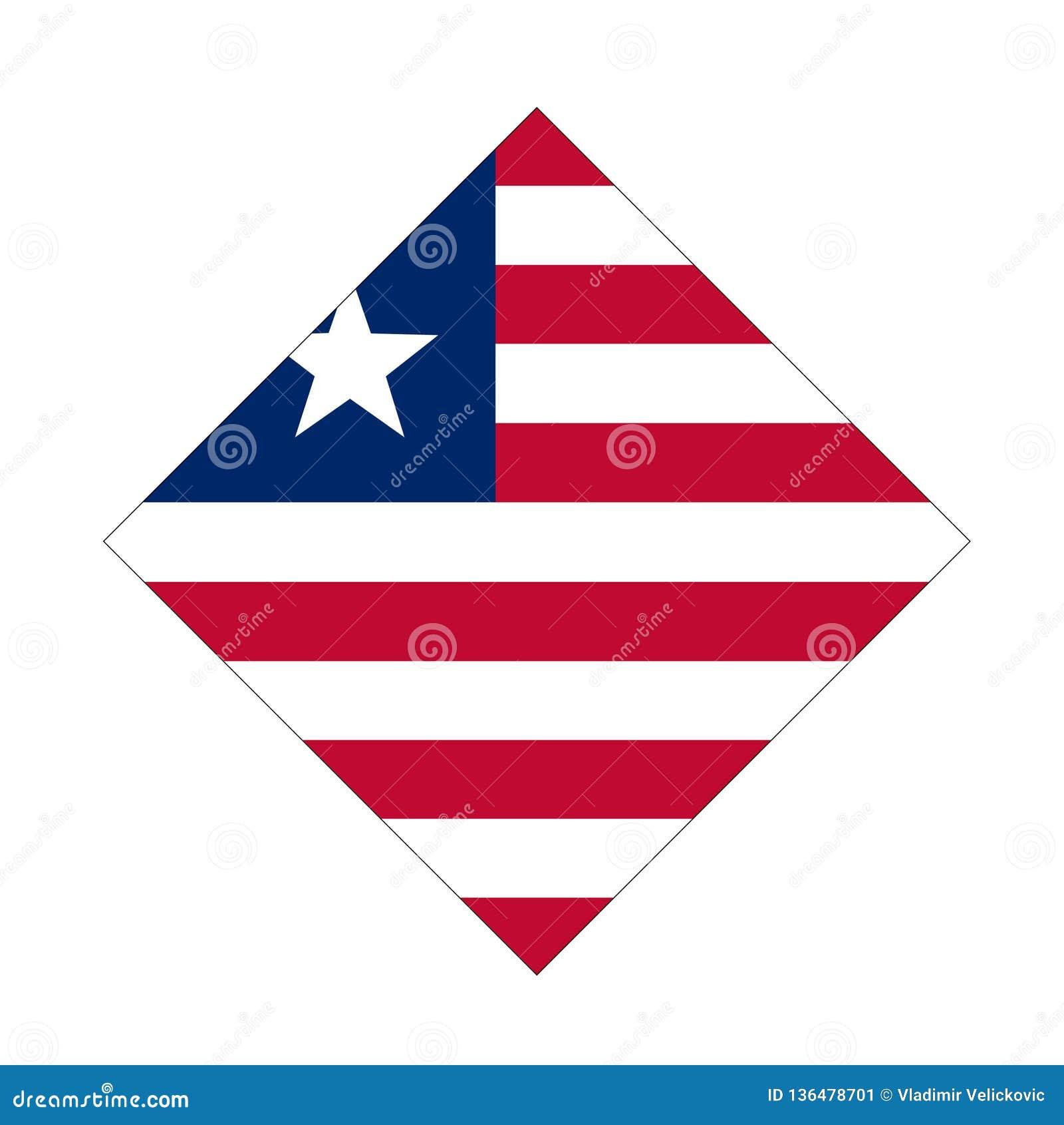 Bandera de Liberia - la República de Liberia