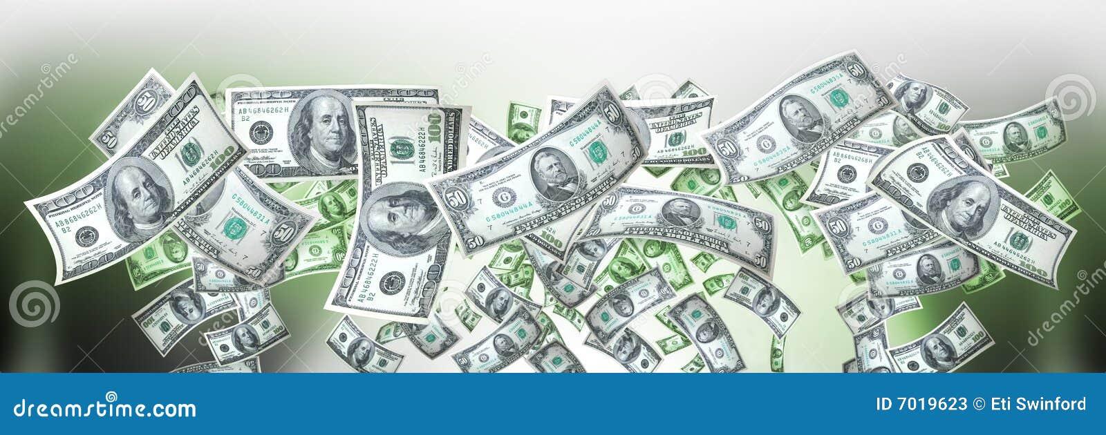 Bandera del dinero