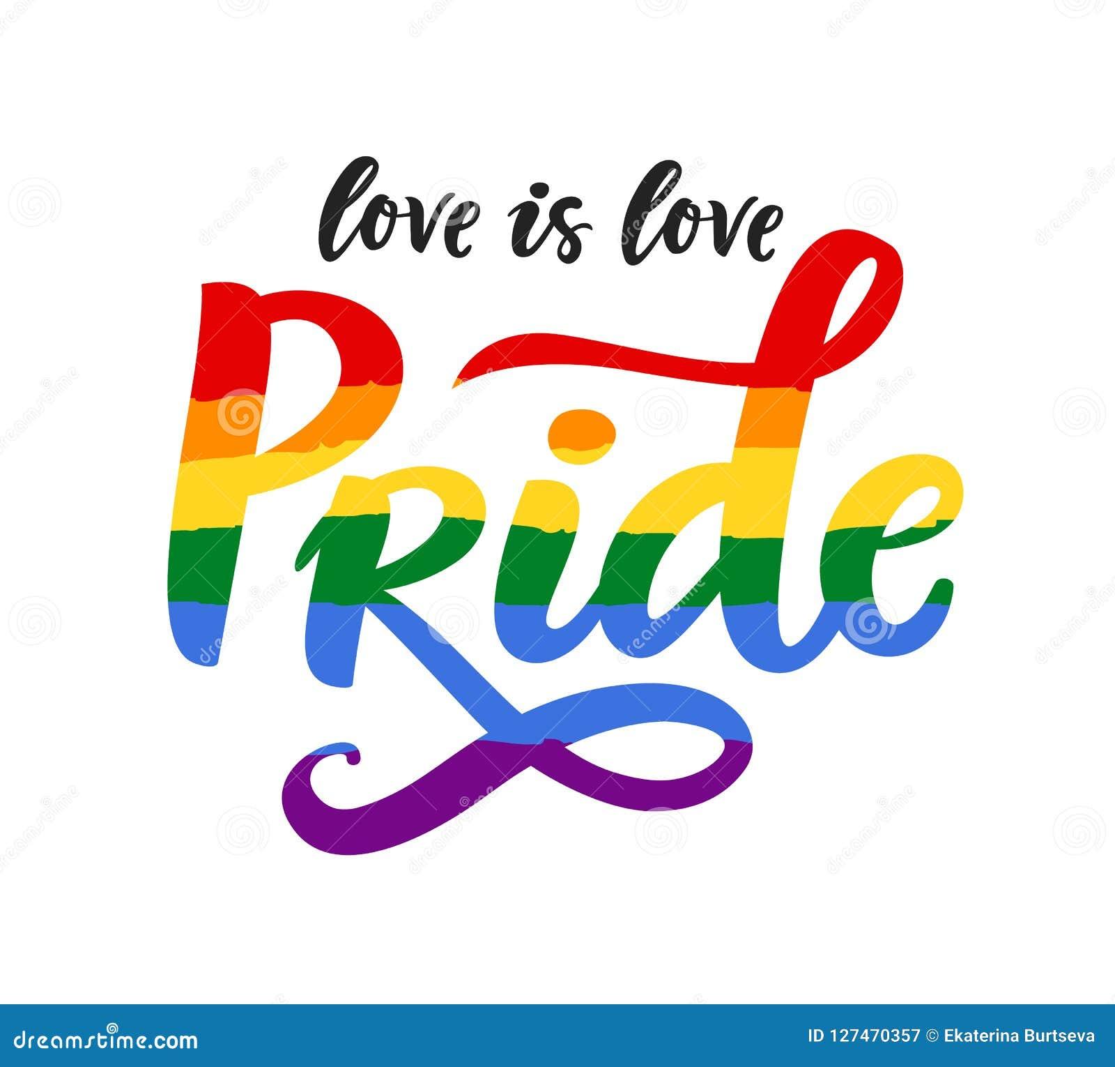 Bandera del espectro del arco iris del cartel del orgullo gay, homosexualidad, emblema de la igualdad en estilo retro