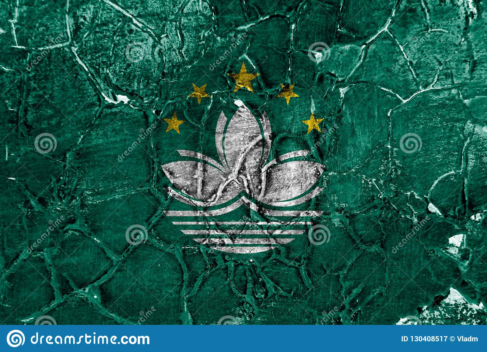 Bandera del grunge de Macao, bandera dependiente del territorio