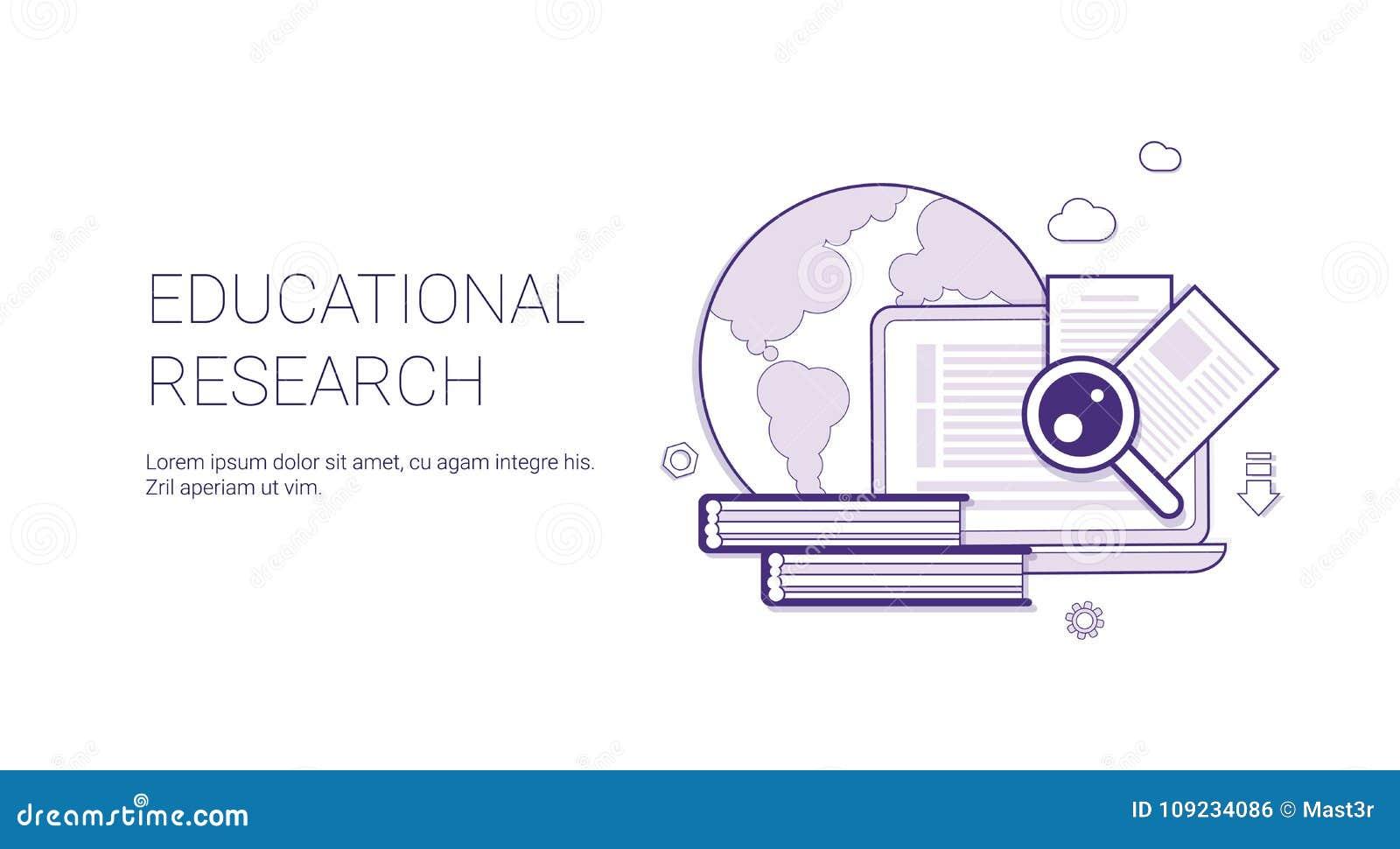 Bandera Educativa Del Web De La Plantilla Del Concepto Del Negocio ...