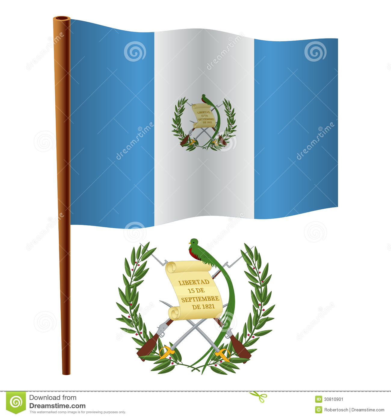 Escudo Y Bandera De Guatemala Pictures to Pin on Pinterest - ThePinsta